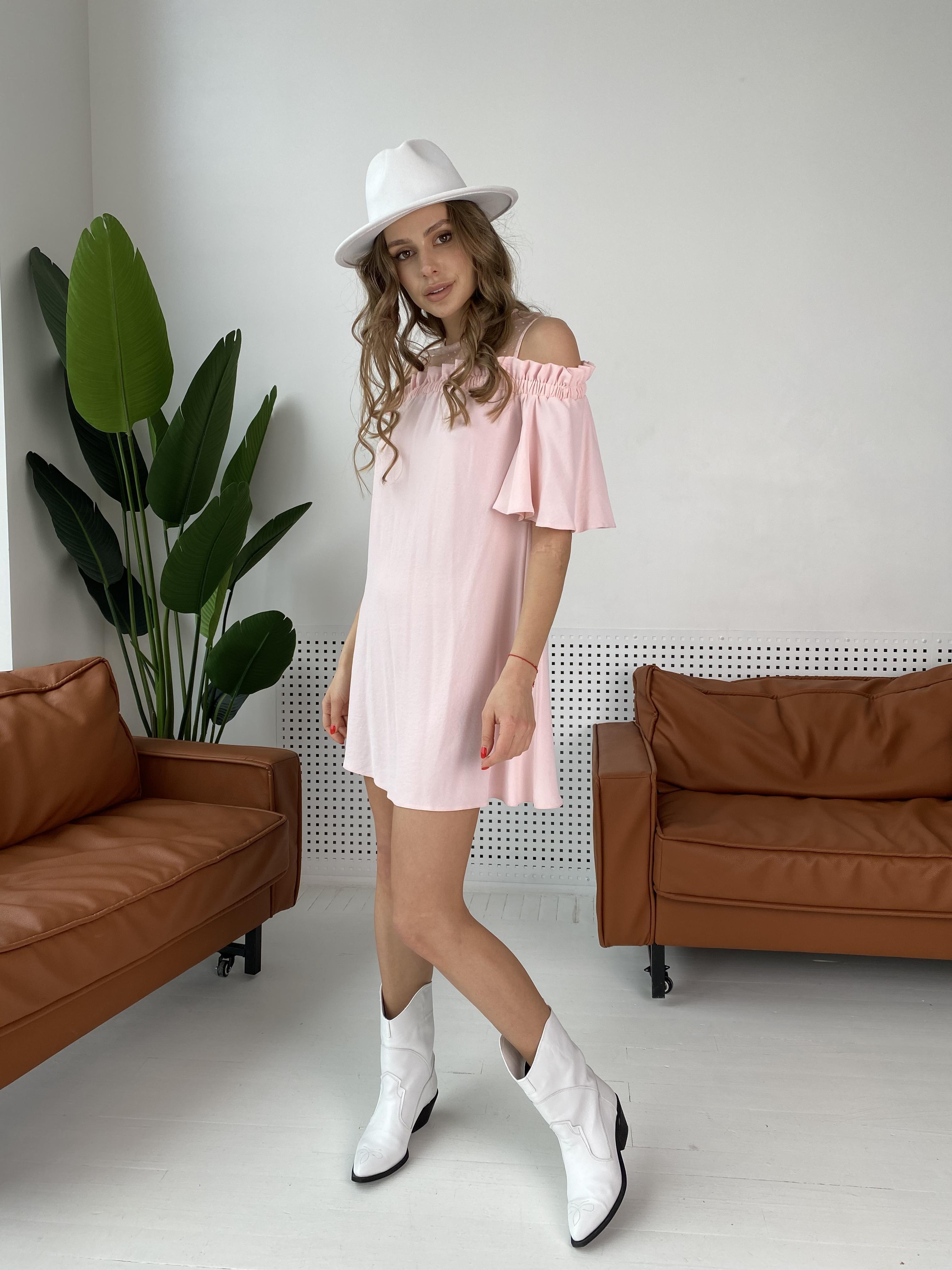 Молена платье  7192 АРТ. 42752 Цвет: Розовый Светлый 8 - фото 7, интернет магазин tm-modus.ru