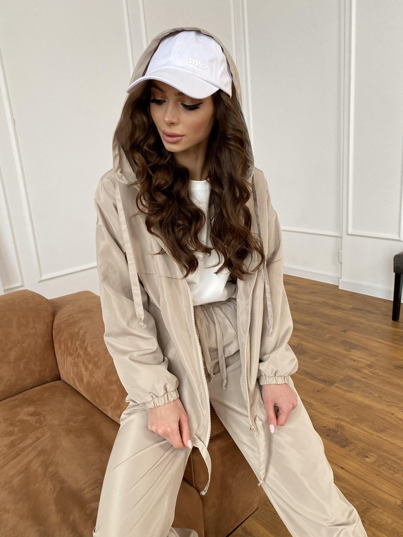 Фит костюм из плащевой ткани 11005 АРТ. 47502 Цвет: Бежевый - фото 11, интернет магазин tm-modus.ru