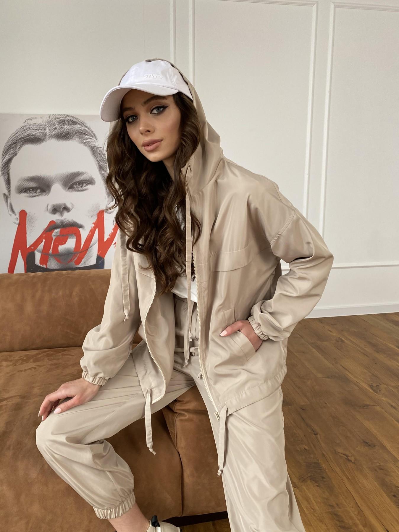 Фит костюм из плащевой ткани 11005 АРТ. 47502 Цвет: Бежевый - фото 12, интернет магазин tm-modus.ru