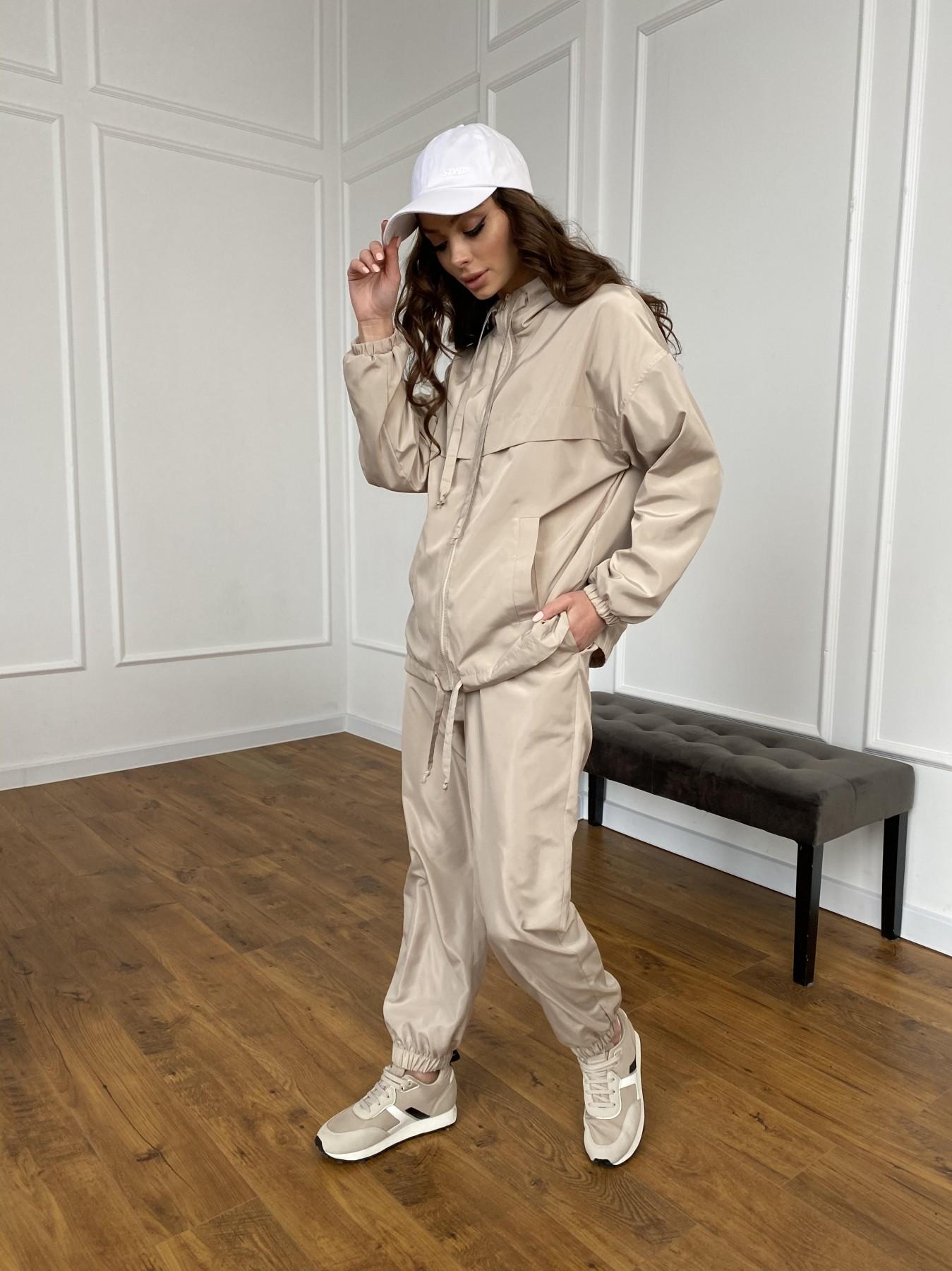 Фит костюм из плащевой ткани 11005 АРТ. 47502 Цвет: Бежевый - фото 19, интернет магазин tm-modus.ru