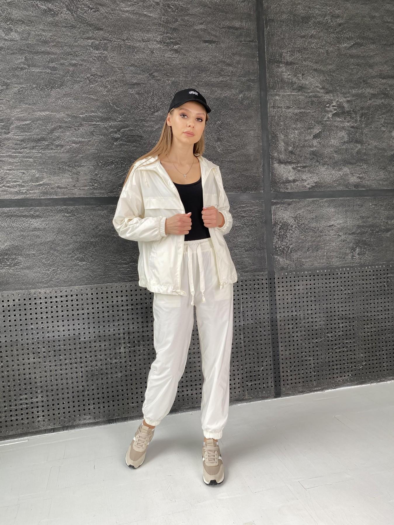Женская одежда оптом от производителя Фит костюм из плащевой ткани 11048