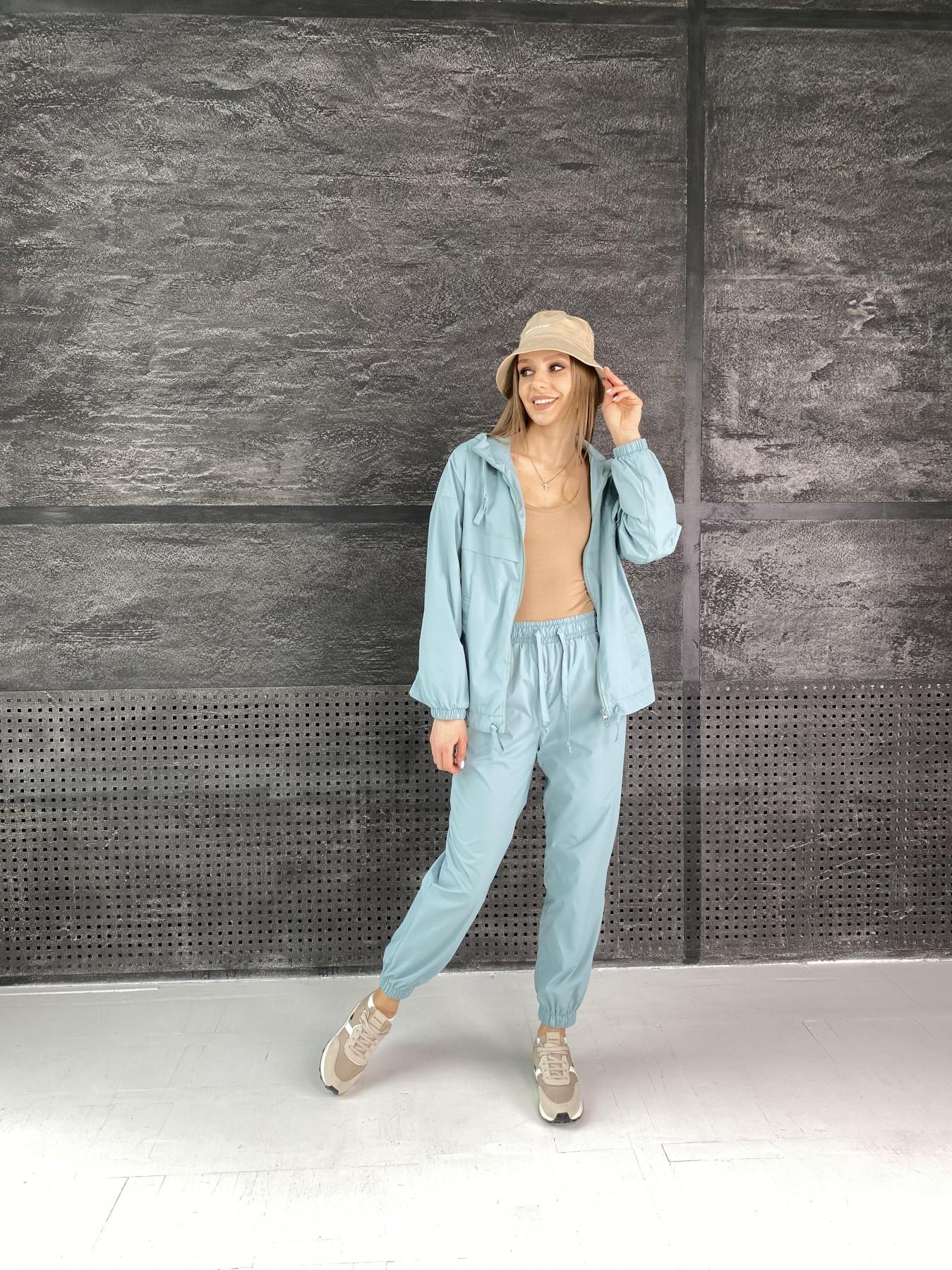 Фит костюм  из плащевой ткани Astra 11052 АРТ. 47536 Цвет: Олива - фото 2, интернет магазин tm-modus.ru