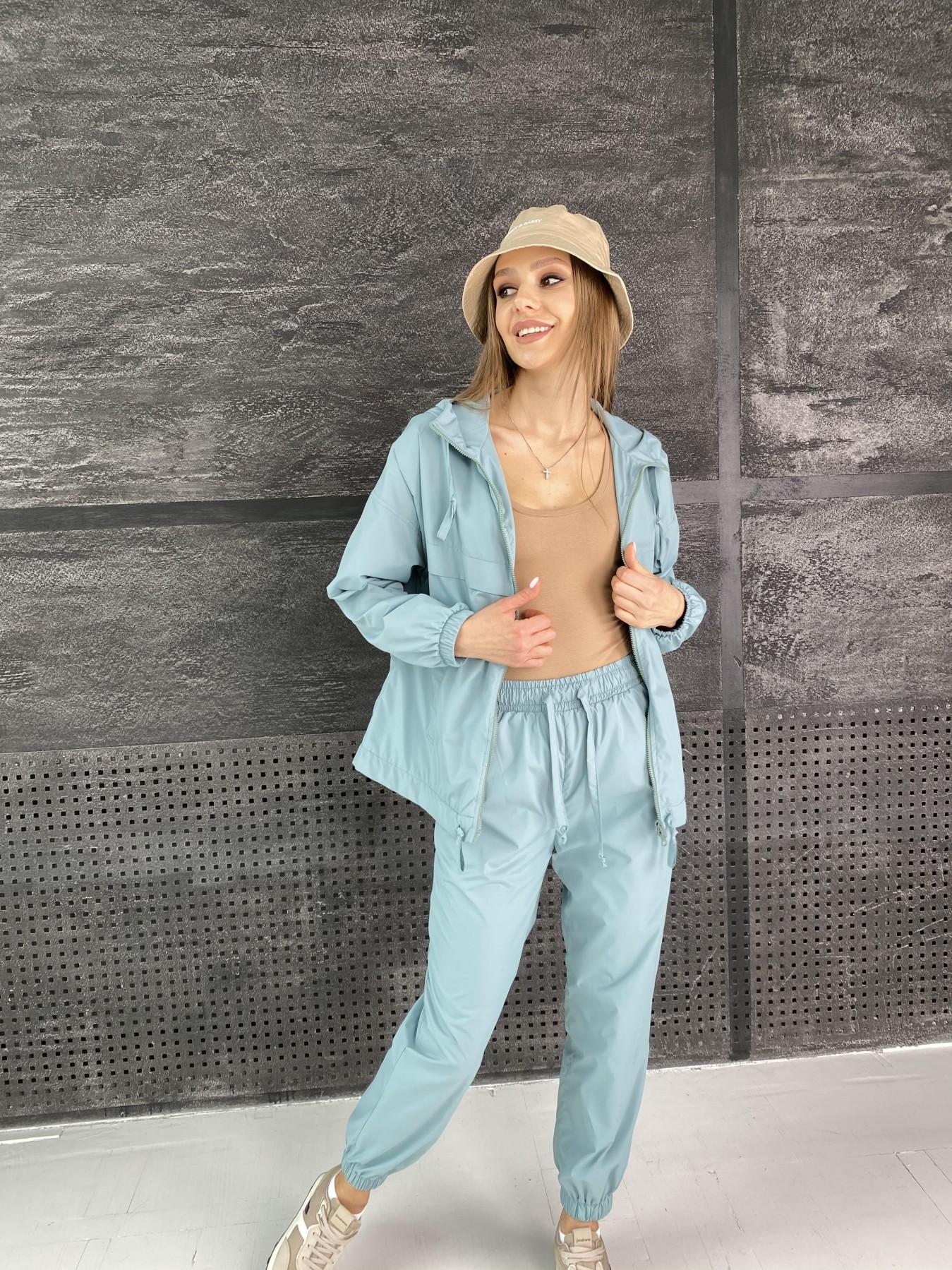 Фит костюм  из плащевой ткани Astra 11052 АРТ. 47536 Цвет: Олива - фото 3, интернет магазин tm-modus.ru