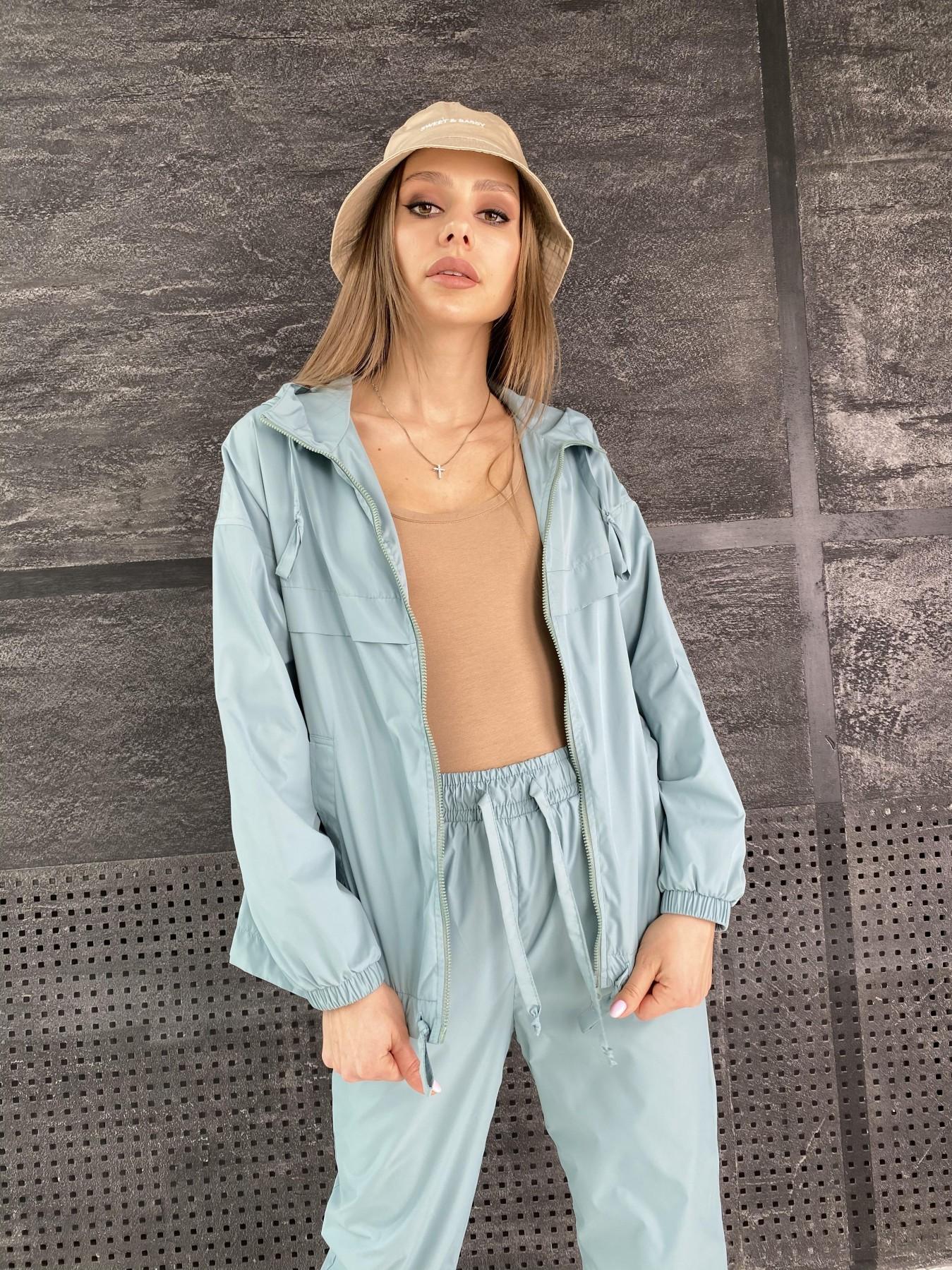 Фит костюм  из плащевой ткани Astra 11052 АРТ. 47536 Цвет: Олива - фото 5, интернет магазин tm-modus.ru