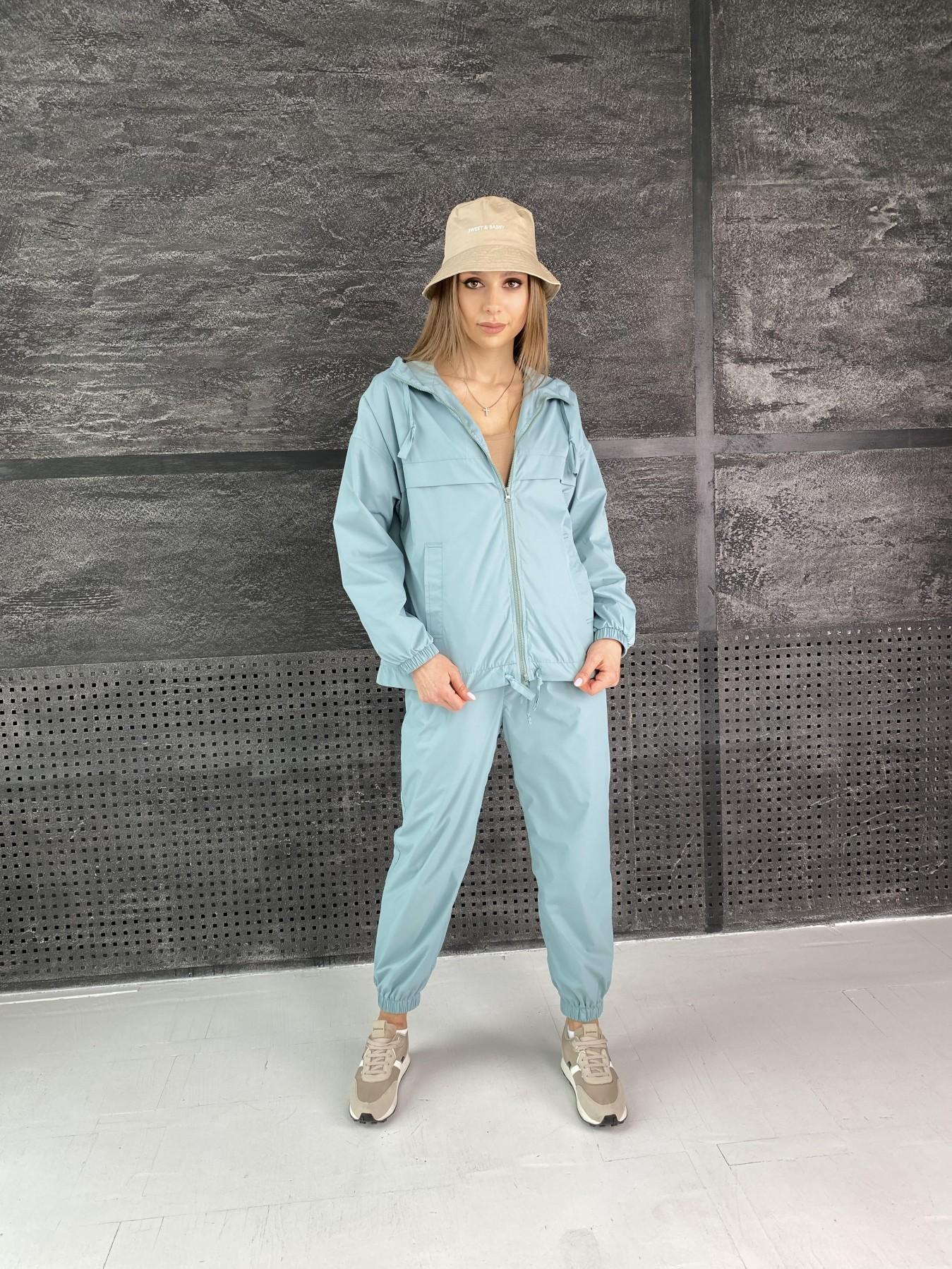 Фит костюм  из плащевой ткани Astra 11052 АРТ. 47536 Цвет: Олива - фото 6, интернет магазин tm-modus.ru