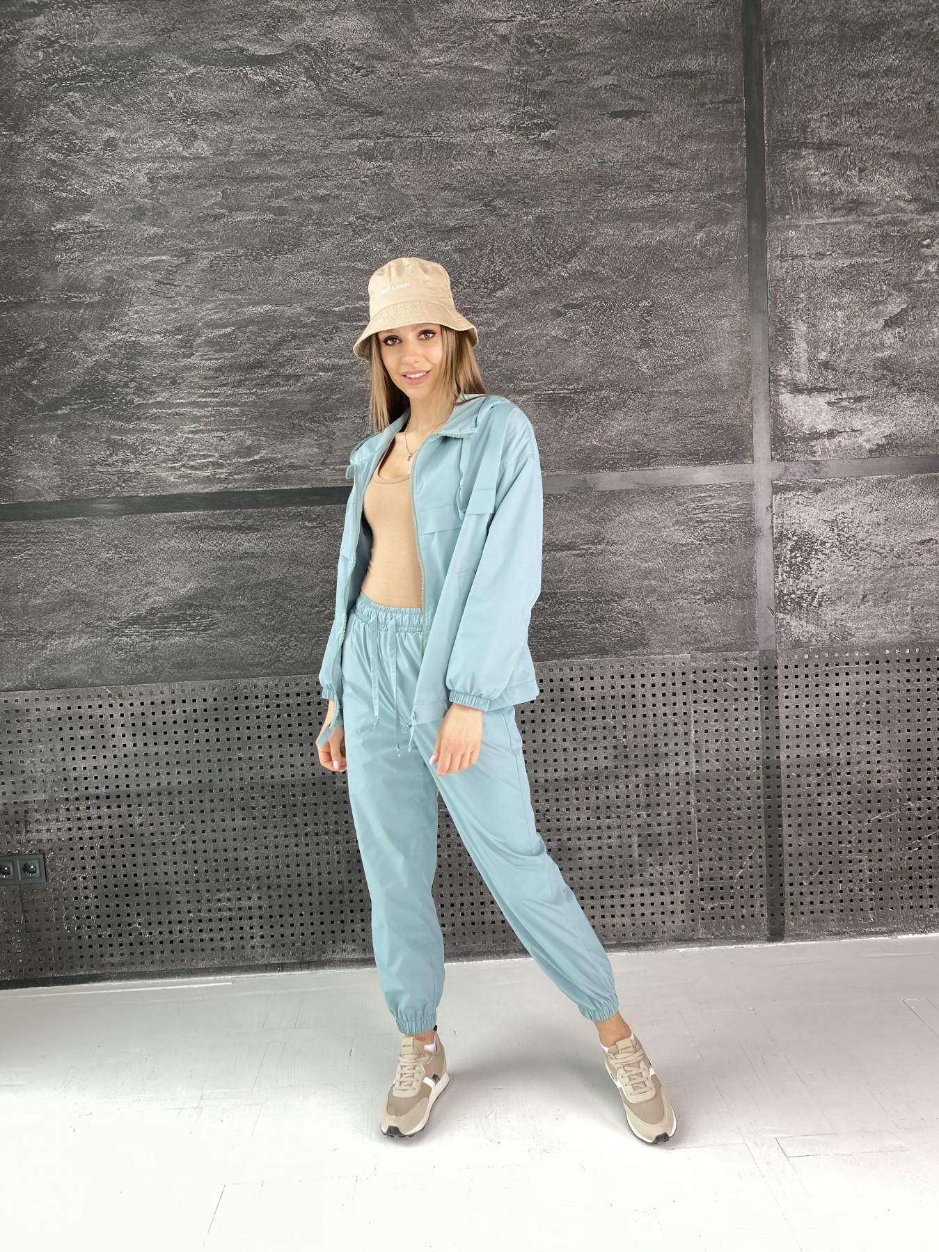 Фит костюм  из плащевой ткани Astra 11052 АРТ. 47536 Цвет: Олива - фото 10, интернет магазин tm-modus.ru
