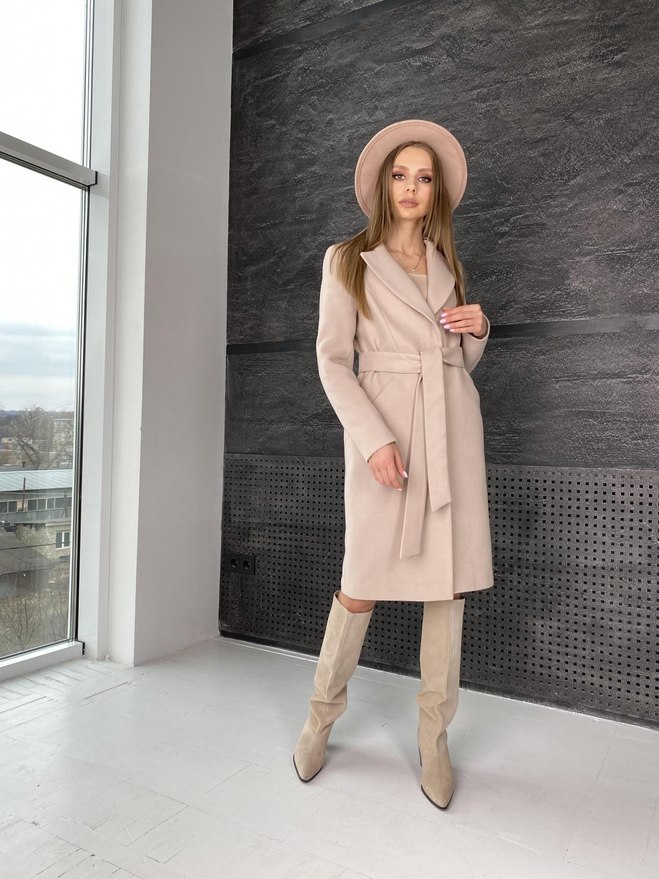 Пальто женское демисезонное интернет магазин TM Modus Мехико пальто из гладкого кашемира 10891