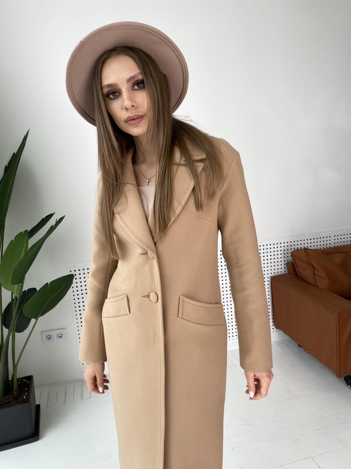 Вейсона макси пальто из кашемира 10603 АРТ. 47055 Цвет: Кемел - фото 6, интернет магазин tm-modus.ru