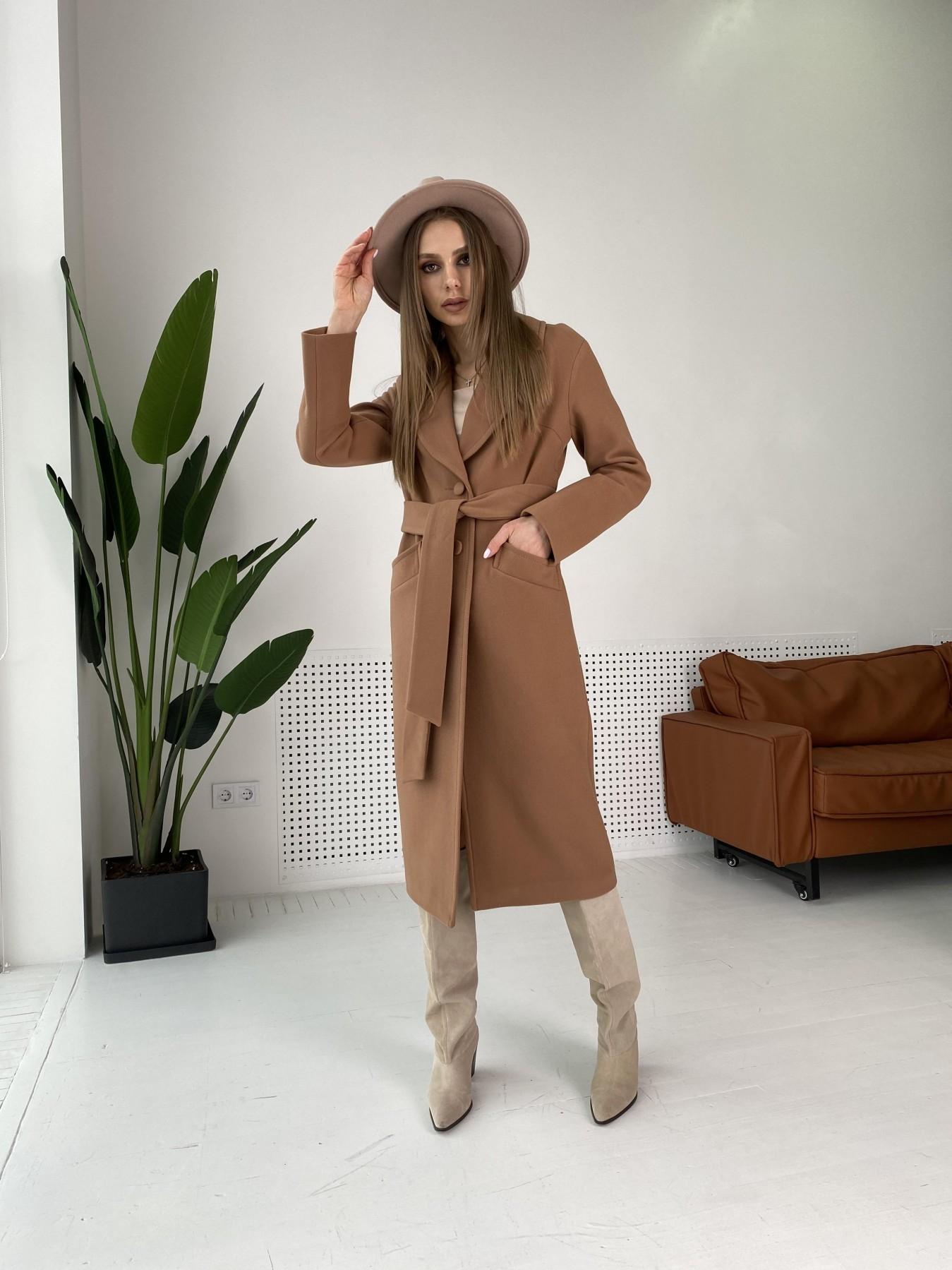 Демисезонного пальто оптом ТМ Modus Вейсона макси пальто из кашемира 10603