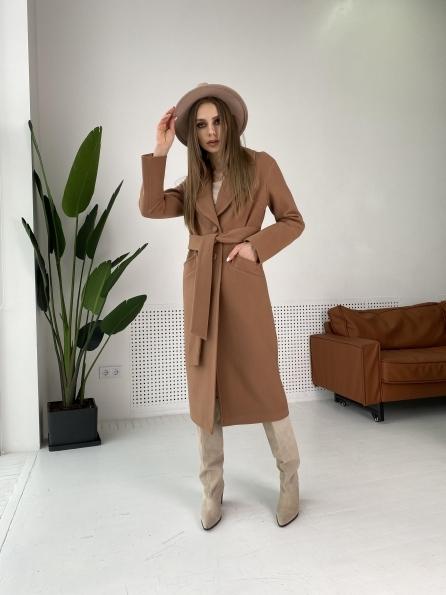 """Купить """"Вейсона макси"""" пальто из кашемира 10603 оптом и в розницу"""