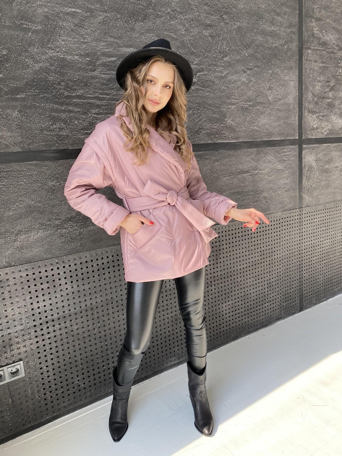 Форбс куртка из плащевой ткани 10986 АРТ. 47477 Цвет: Пудра - фото 5, интернет магазин tm-modus.ru