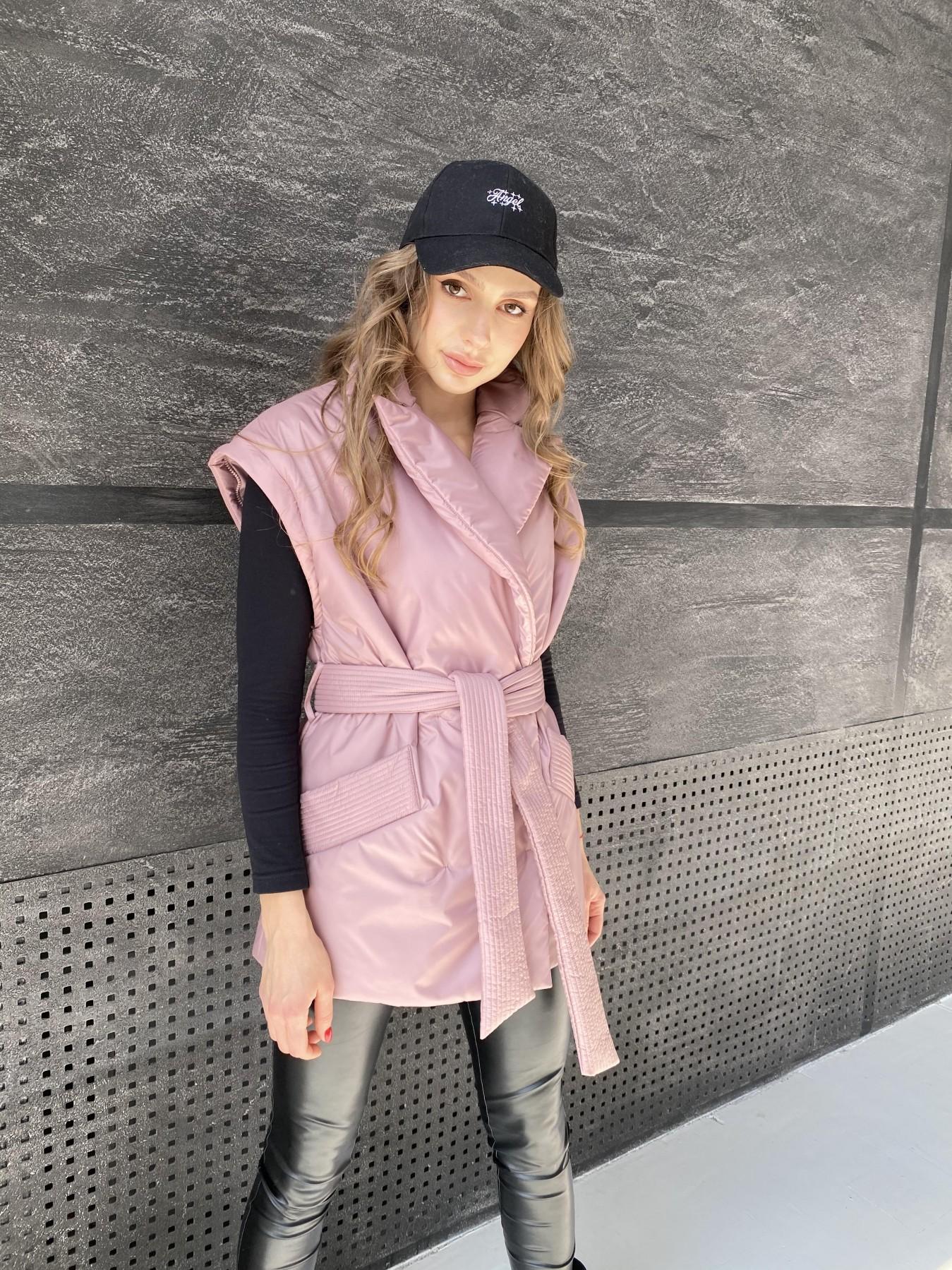 Форбс куртка из плащевой ткани 10986 АРТ. 47477 Цвет: Пудра - фото 7, интернет магазин tm-modus.ru