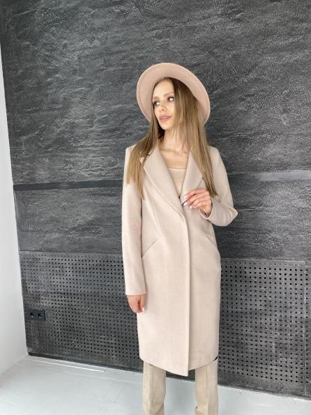 """Купить """"Мехико"""" пальто из гладкого кашемира 10891 оптом и в розницу"""