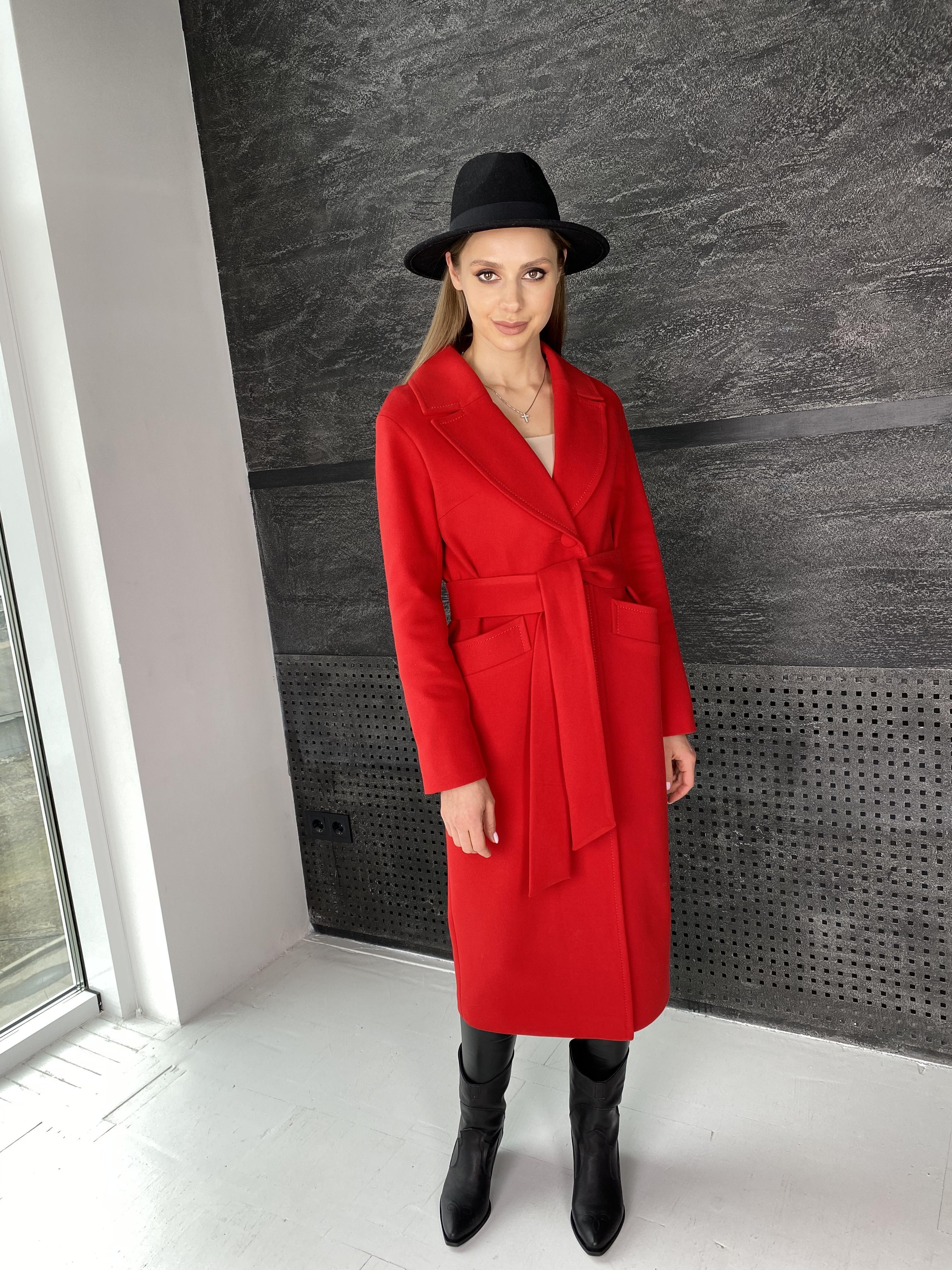 Вейсона макси пальто из кашемира 10603 АРТ. 47431 Цвет: Красный - фото 8, интернет магазин tm-modus.ru