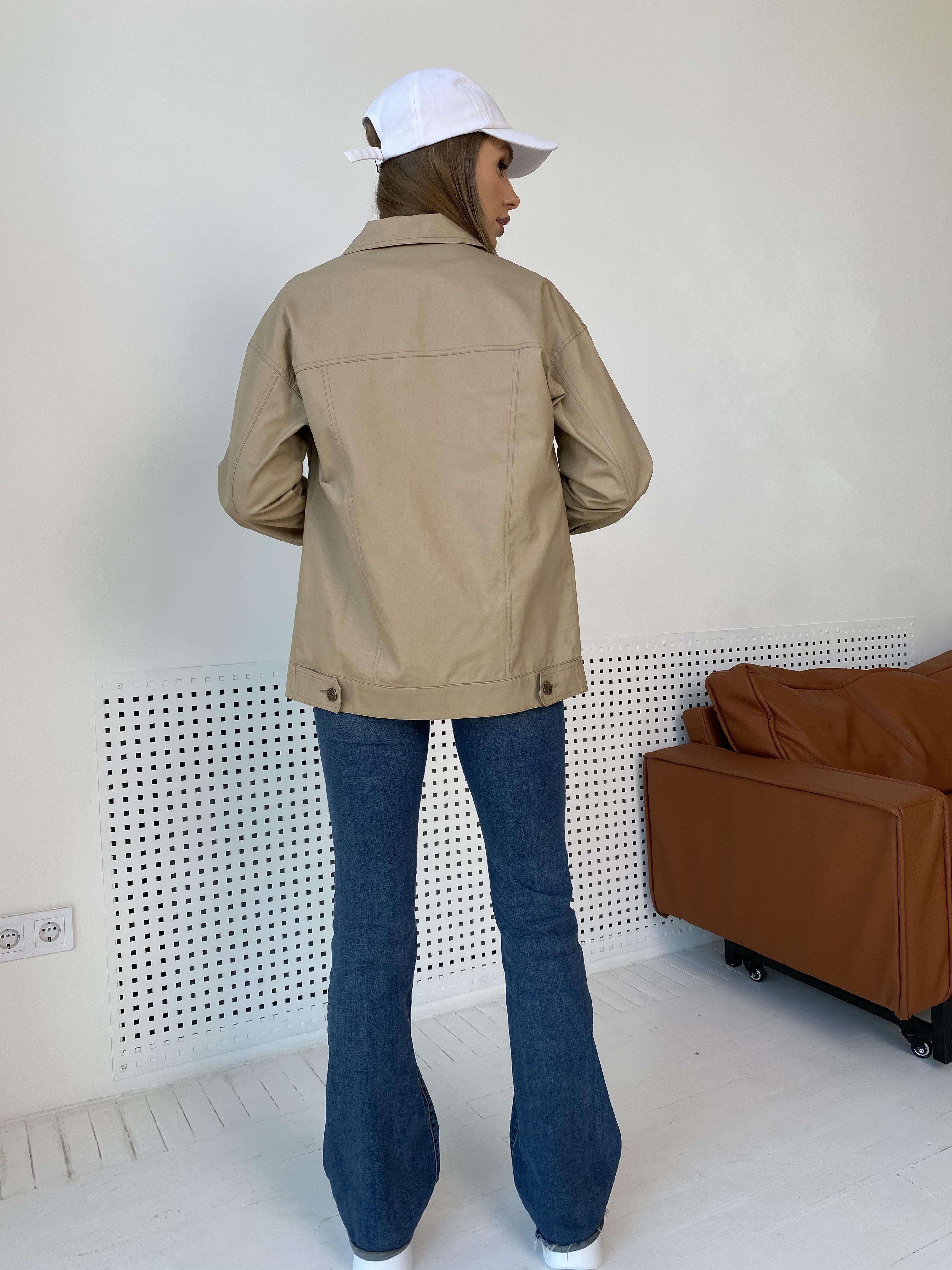 Жакет Релпей 9263 АРТ. 45599 Цвет: Бежевый - фото 12, интернет магазин tm-modus.ru