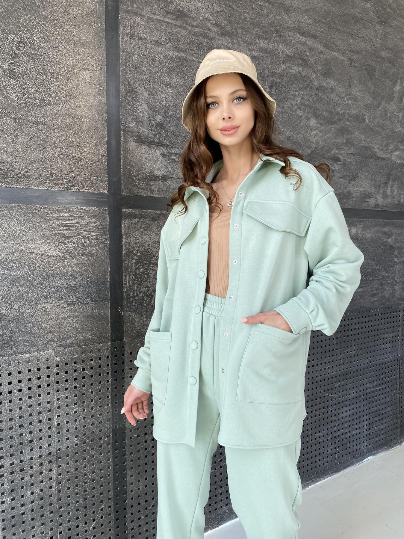 Респект костюм из трикотажа  3х нитка 11055 АРТ. 47576 Цвет: Олива Светлая - фото 4, интернет магазин tm-modus.ru