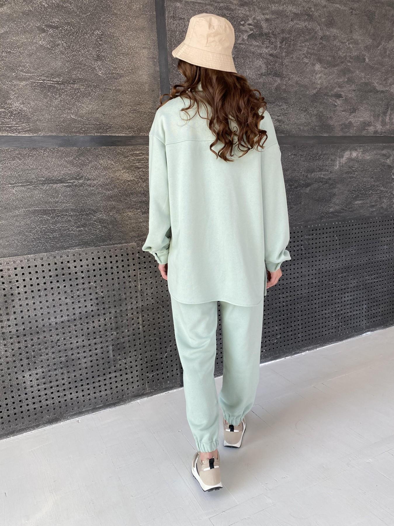 Респект костюм из трикотажа  3х нитка 11055 АРТ. 47576 Цвет: Олива Светлая - фото 7, интернет магазин tm-modus.ru