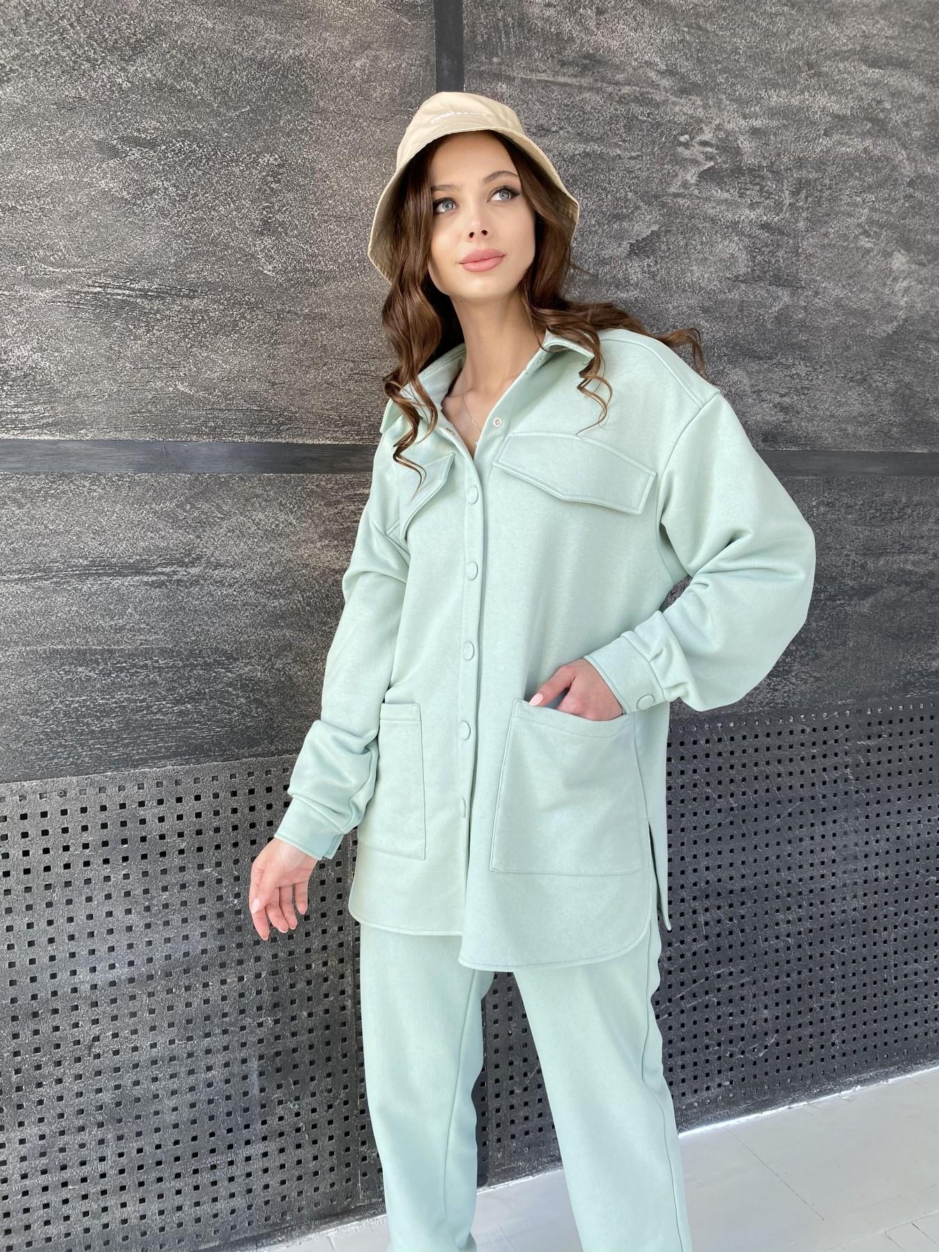 Респект костюм из трикотажа  3х нитка 11055 АРТ. 47576 Цвет: Олива Светлая - фото 8, интернет магазин tm-modus.ru