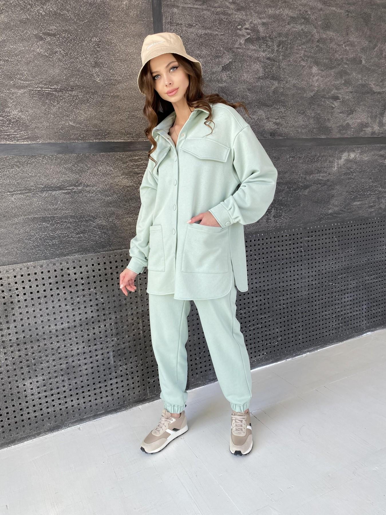 Респект костюм из трикотажа  3х нитка 11055 АРТ. 47576 Цвет: Олива Светлая - фото 9, интернет магазин tm-modus.ru