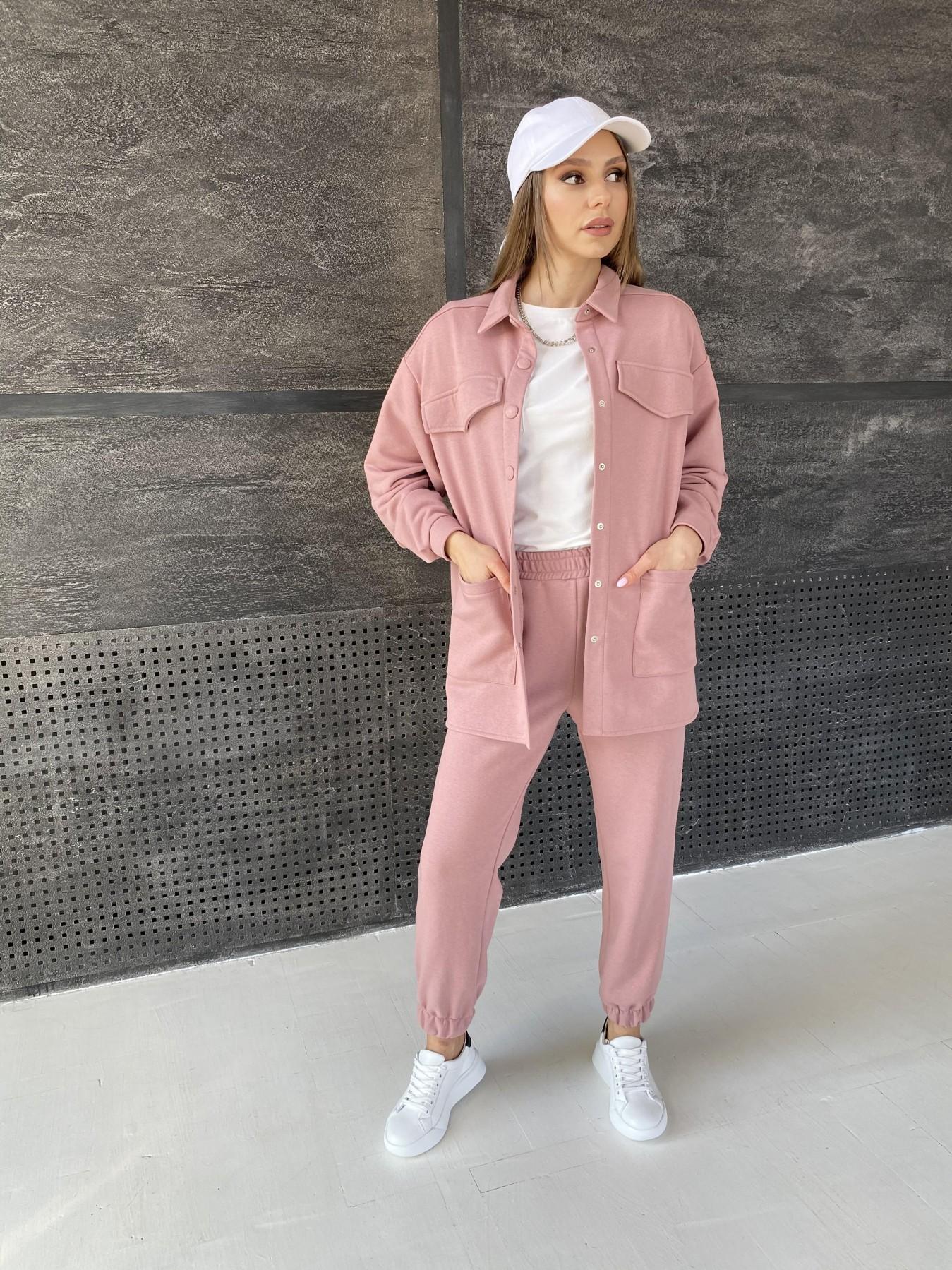 Респект костюм из трикотажа  3х нитка 11055 АРТ. 47574 Цвет: Пудра - фото 4, интернет магазин tm-modus.ru