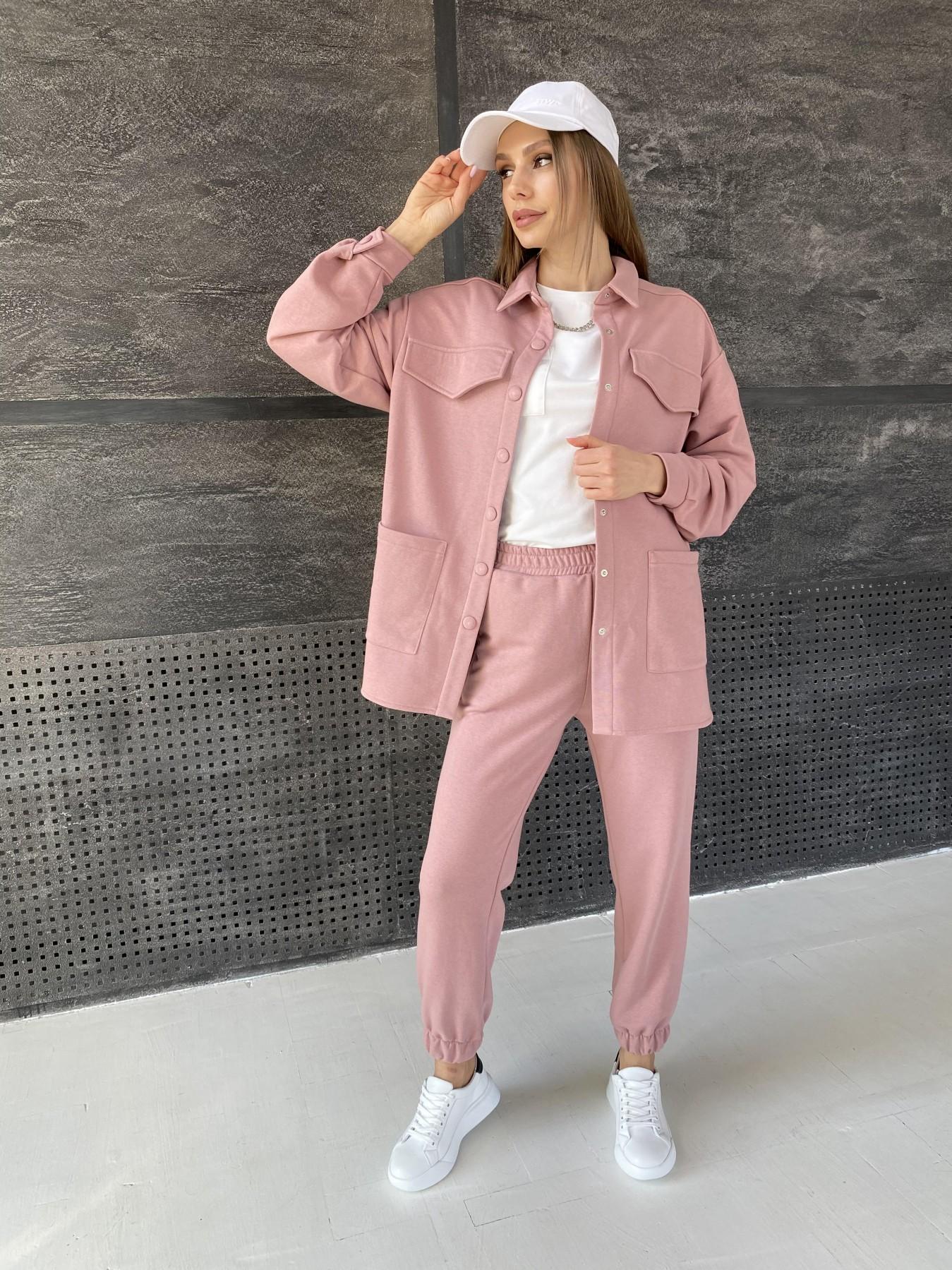 Респект костюм из трикотажа  3х нитка 11055 АРТ. 47574 Цвет: Пудра - фото 5, интернет магазин tm-modus.ru