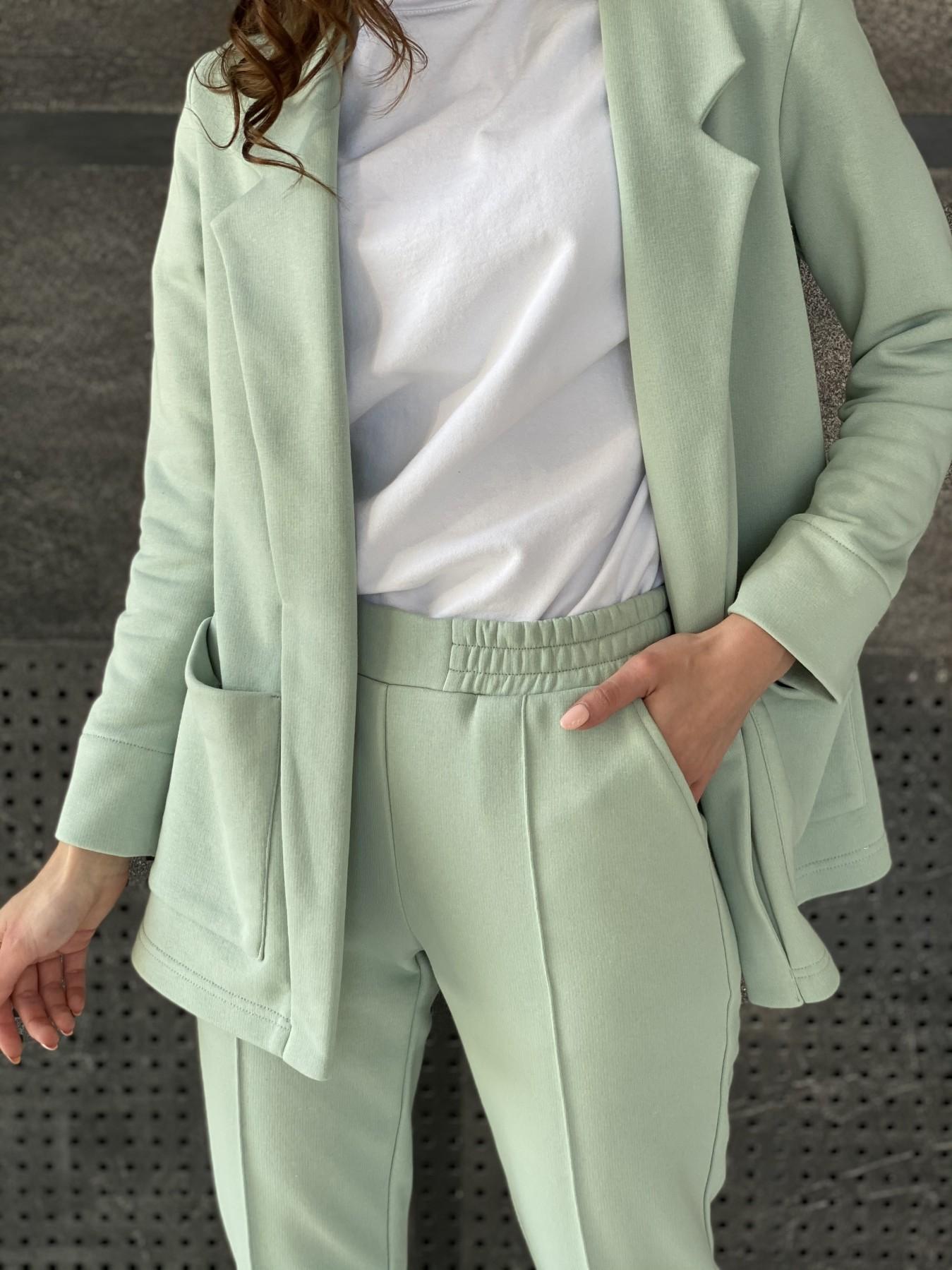 Аурис костюм трикотажный из  3х нитки 11083 АРТ. 47578 Цвет: Олива Светлая - фото 5, интернет магазин tm-modus.ru