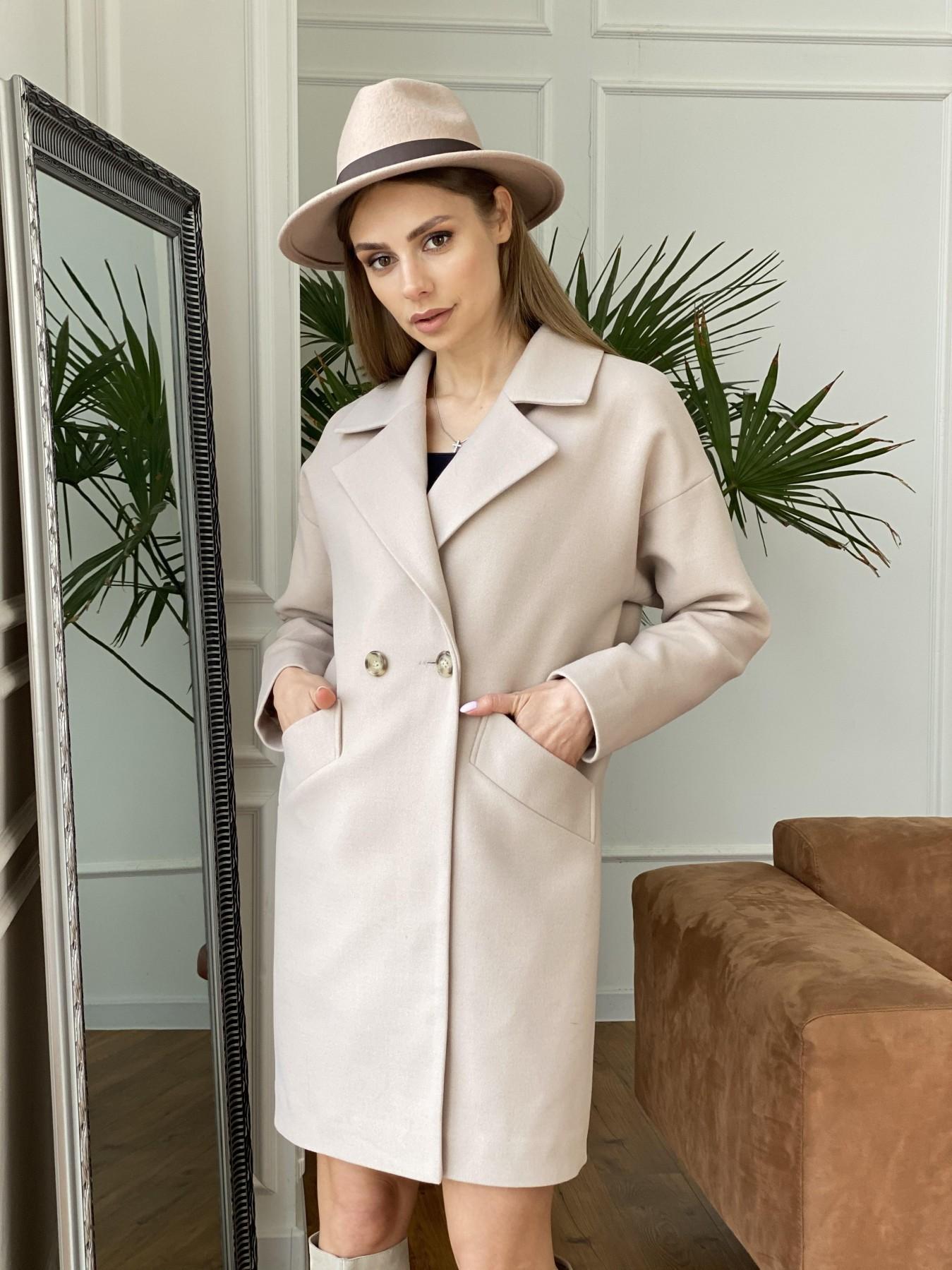 Демисезонного пальто оптом ТМ Modus Сенсей пальто  из гладкого кашемира 10905