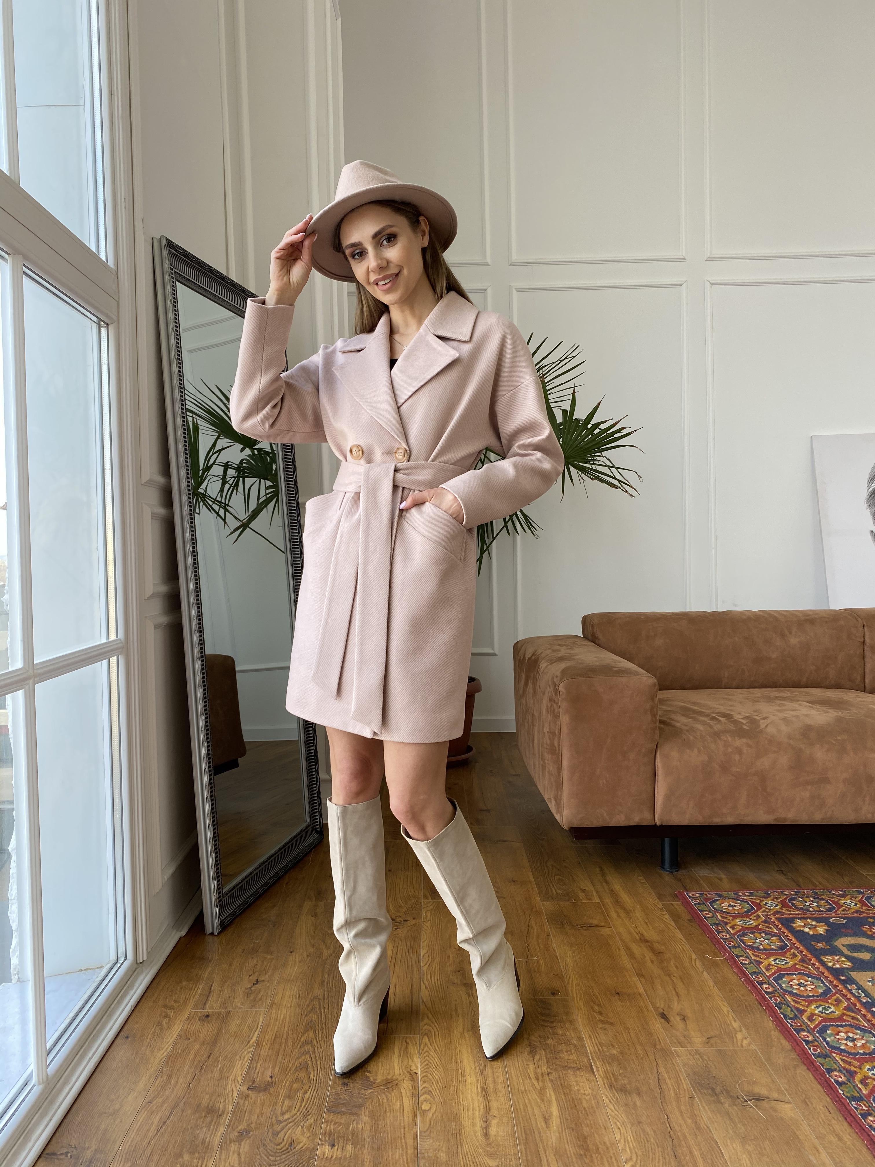 Пальто женское демисезонное интернет магазин TM Modus Сенсей диагональ  пальто 10661