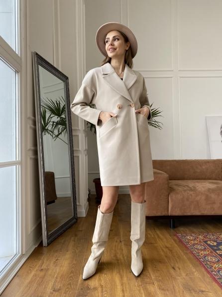 """Купить """"Сенсей"""" пальто из кашемира 10572 оптом и в розницу"""