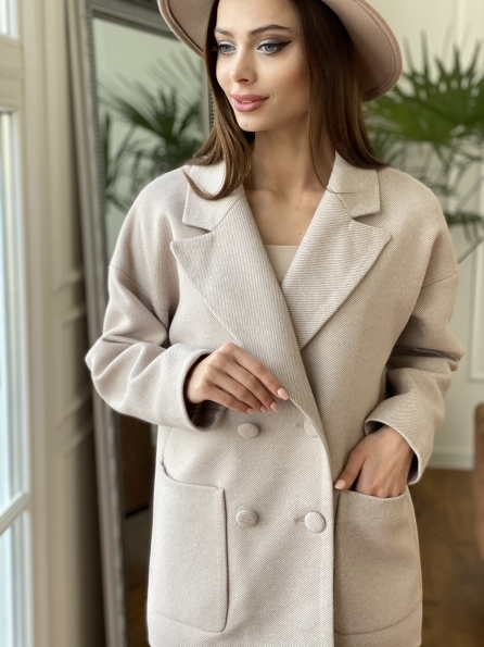 """Купить """"Мансера """" пальто диагональ  10855 оптом и в розницу"""