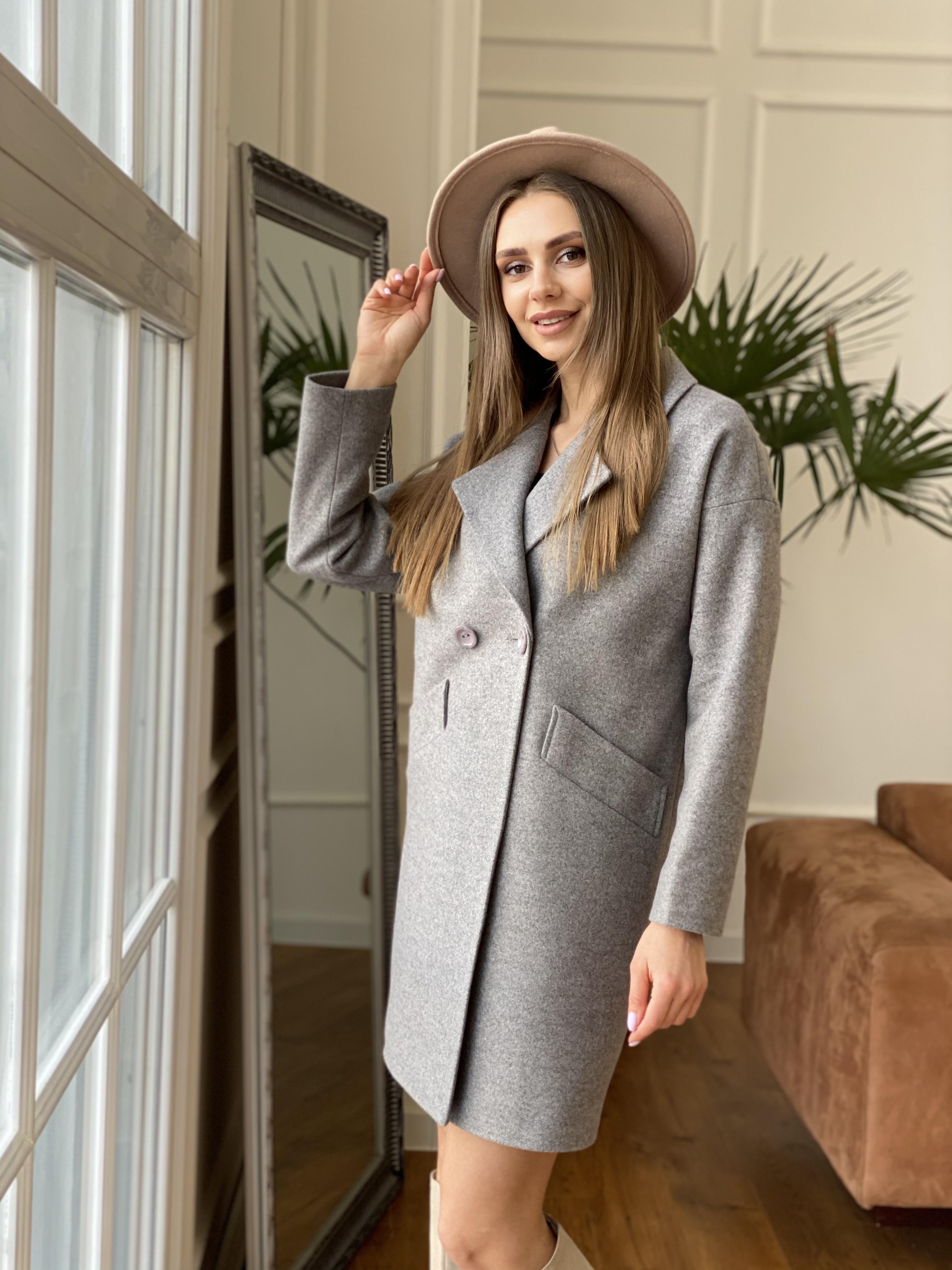 Сенсей пальто из кашемира меланж  10745 АРТ. 47224 Цвет: Карамель 20/1 - фото 3, интернет магазин tm-modus.ru