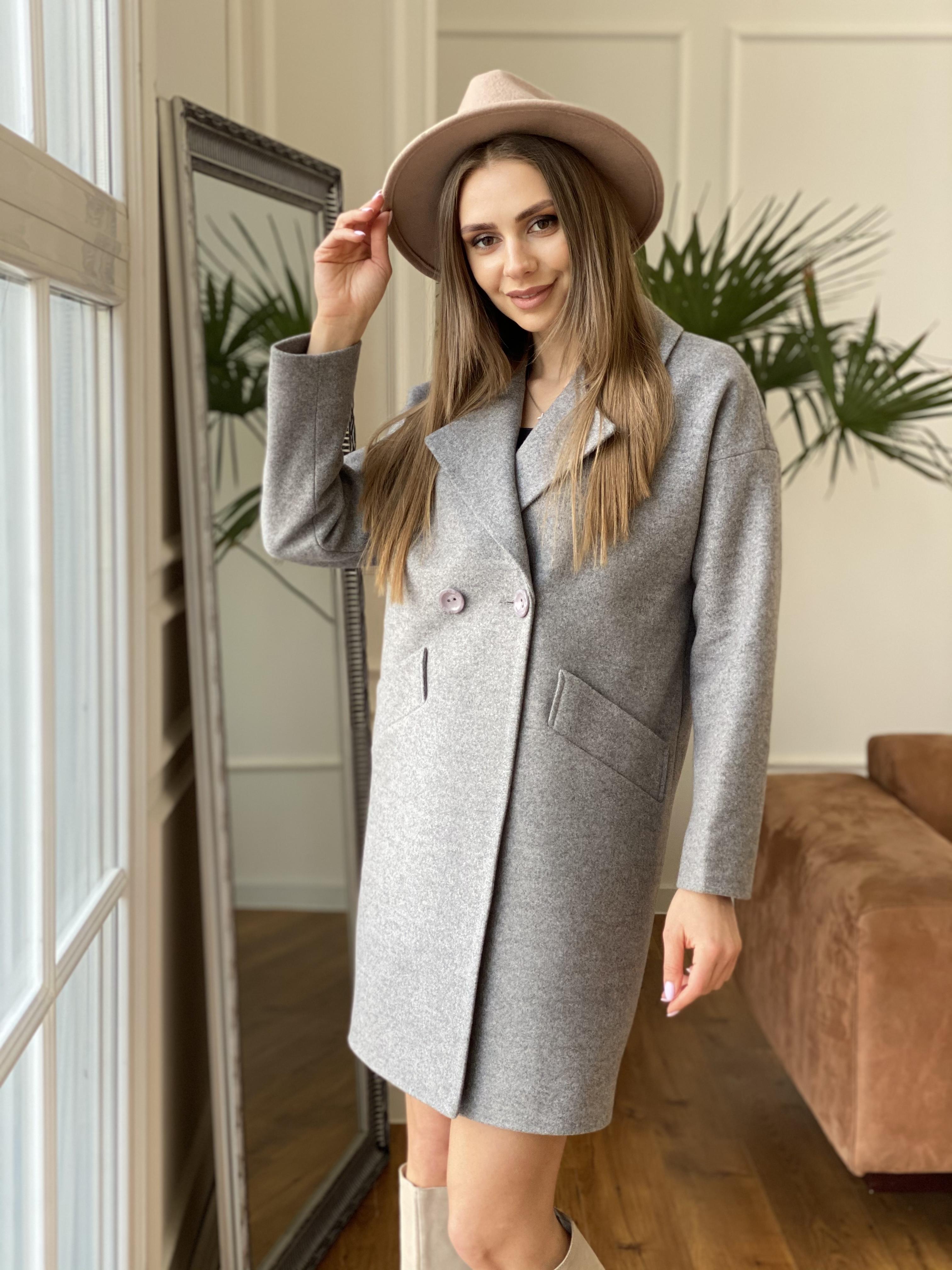 Сенсей пальто из кашемира меланж  10745 АРТ. 47224 Цвет: Карамель 20/1 - фото 4, интернет магазин tm-modus.ru