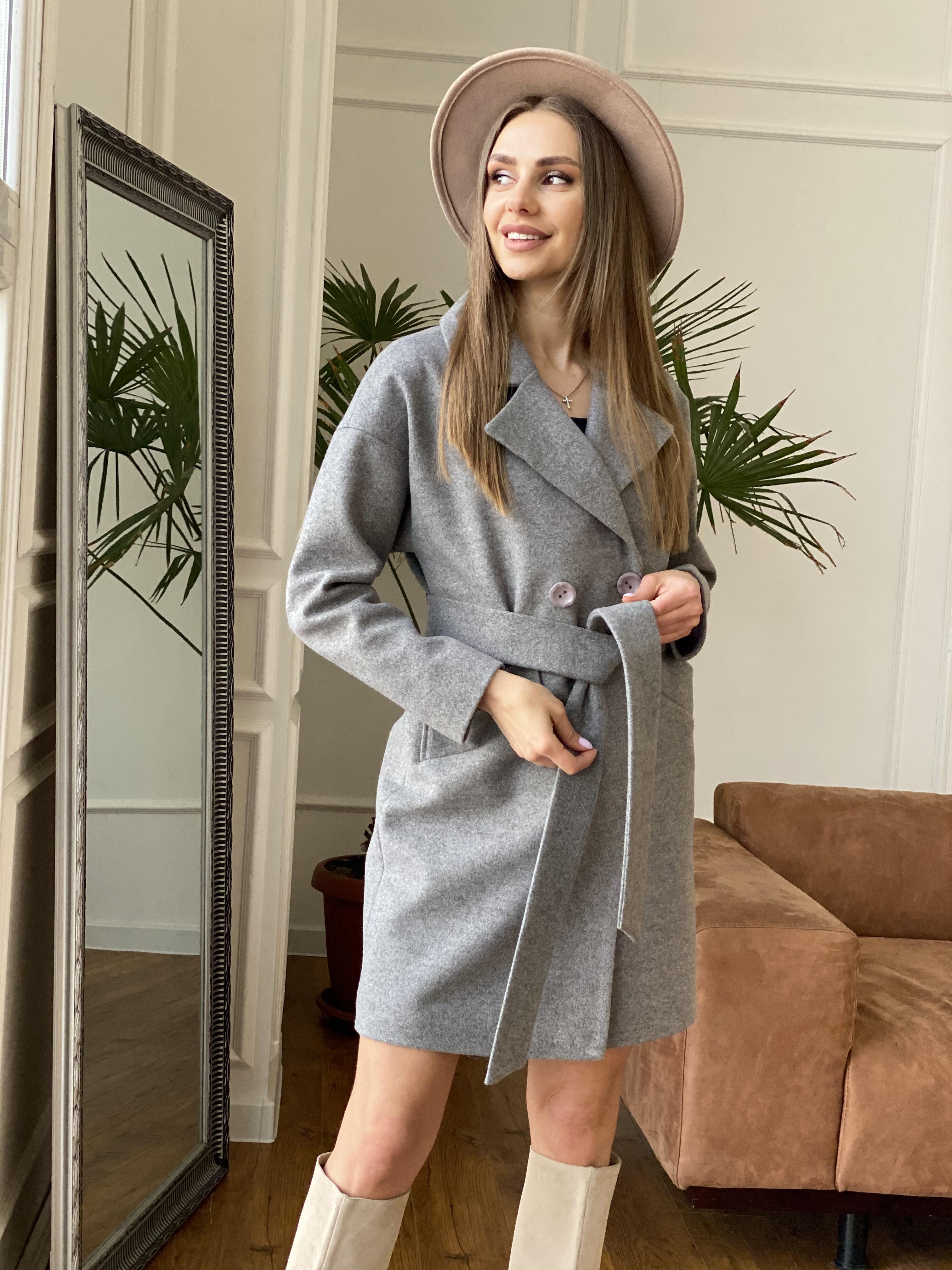 Сенсей пальто из кашемира меланж  10745 АРТ. 47224 Цвет: Карамель 20/1 - фото 6, интернет магазин tm-modus.ru