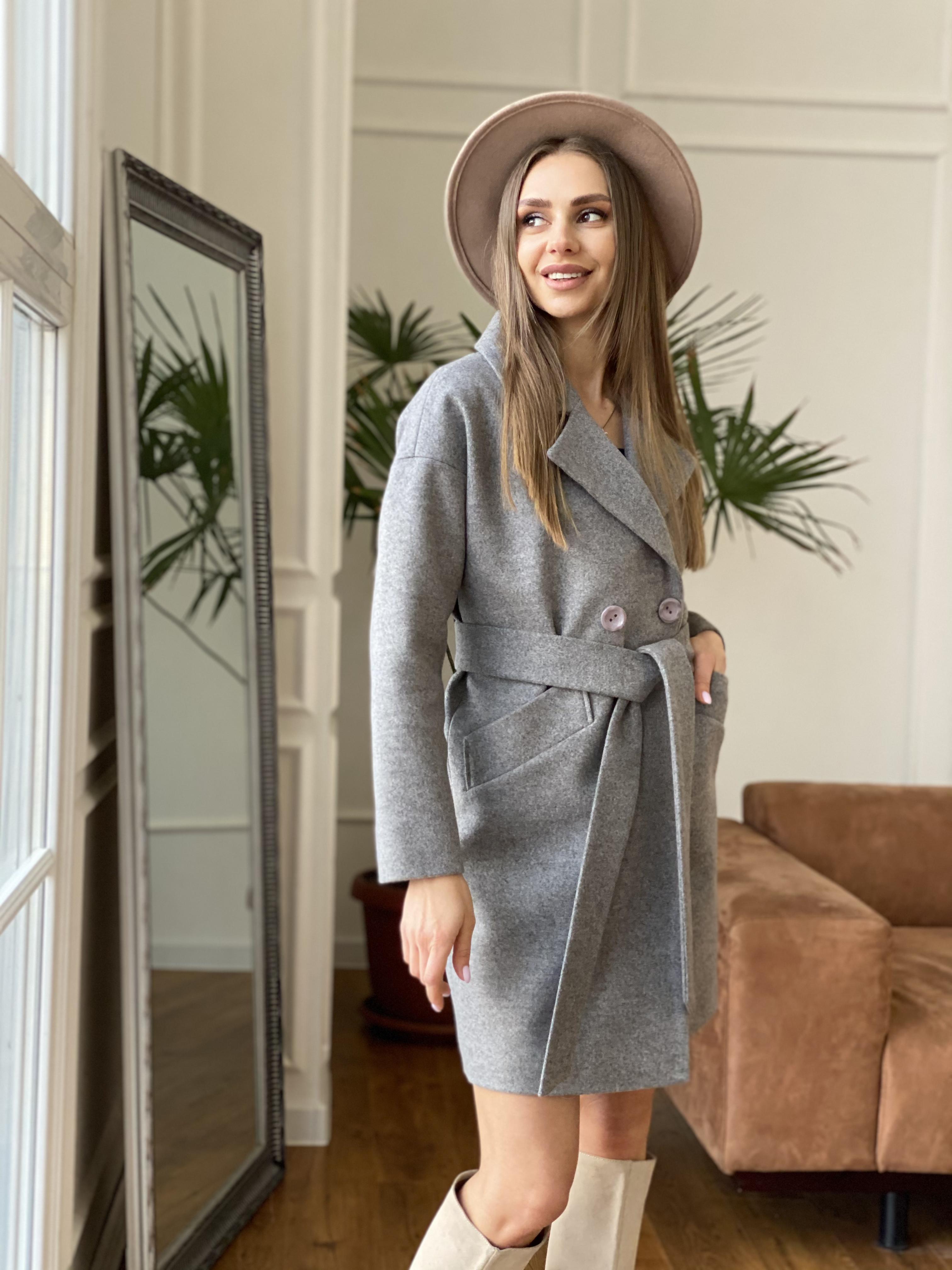 Сенсей пальто из кашемира меланж  10745 АРТ. 47224 Цвет: Карамель 20/1 - фото 7, интернет магазин tm-modus.ru