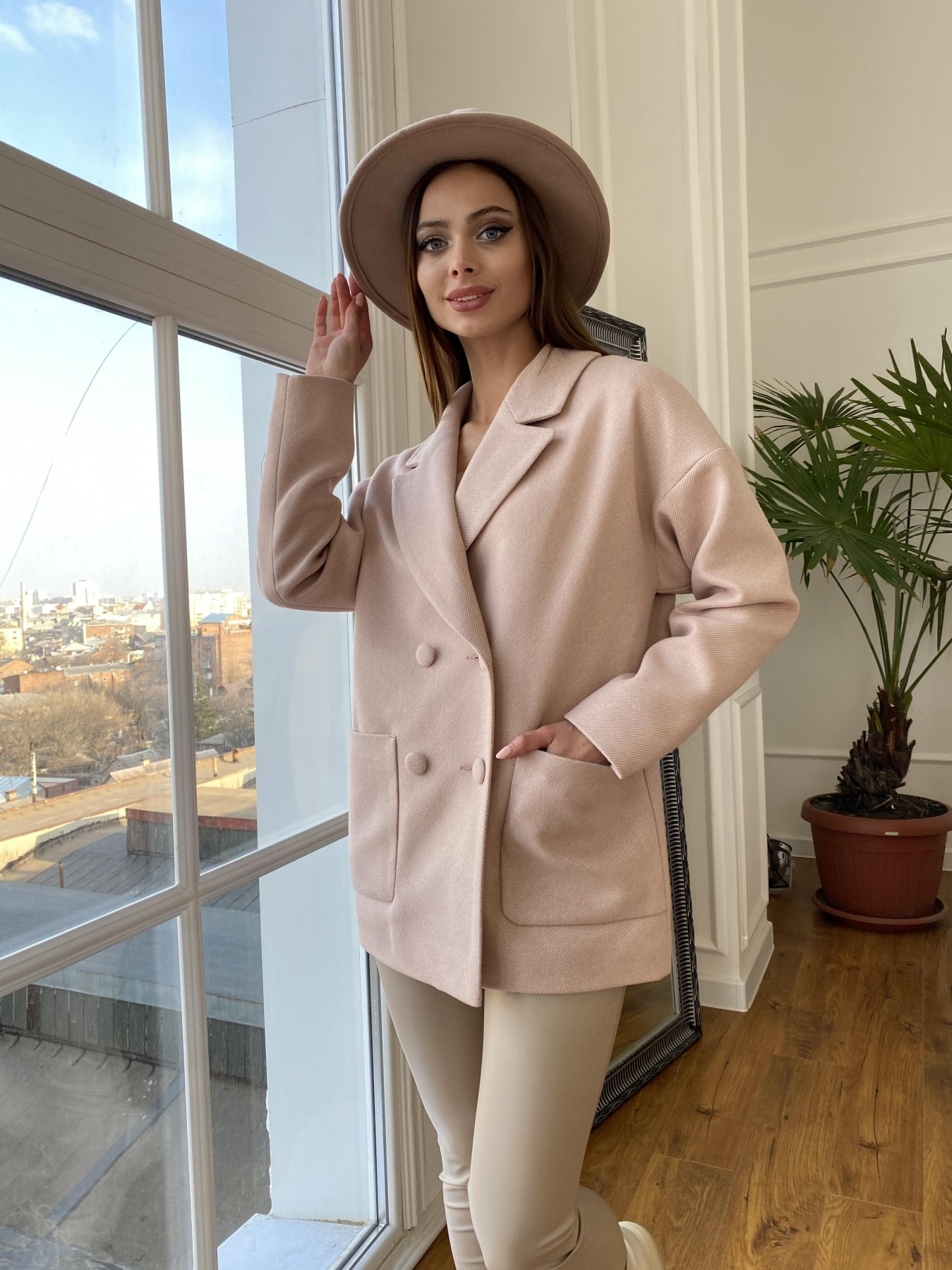 Купить демисезонное пальто от ТМ Modus Мансера  пальто диагональ  10855