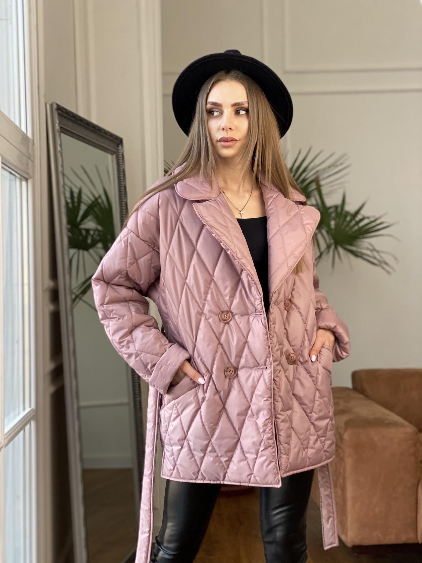 Норд куртка из плащевой ткани стеганая 10883 АРТ. 47465 Цвет: Пудра - фото 8, интернет магазин tm-modus.ru