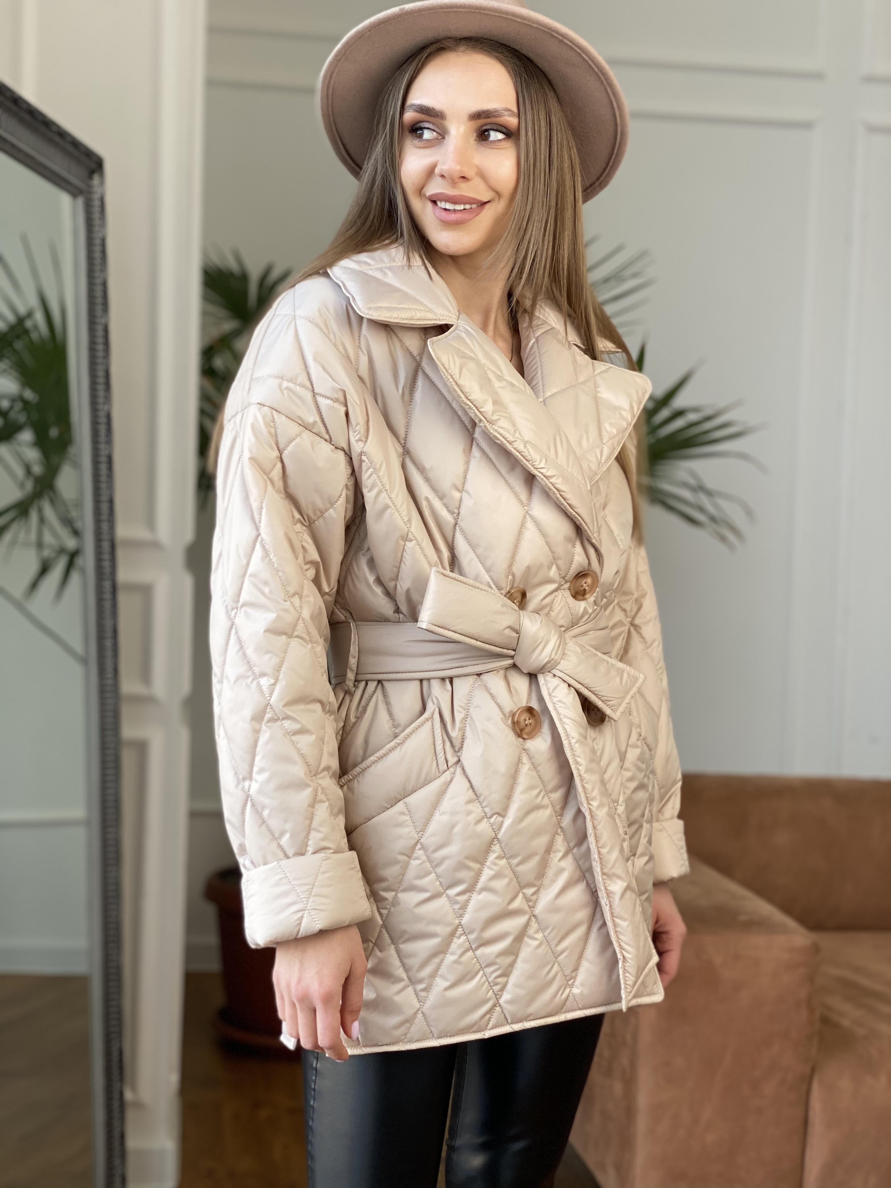 куртки оптом от производителя  Норд куртка из плащевой ткани стеганая 10883