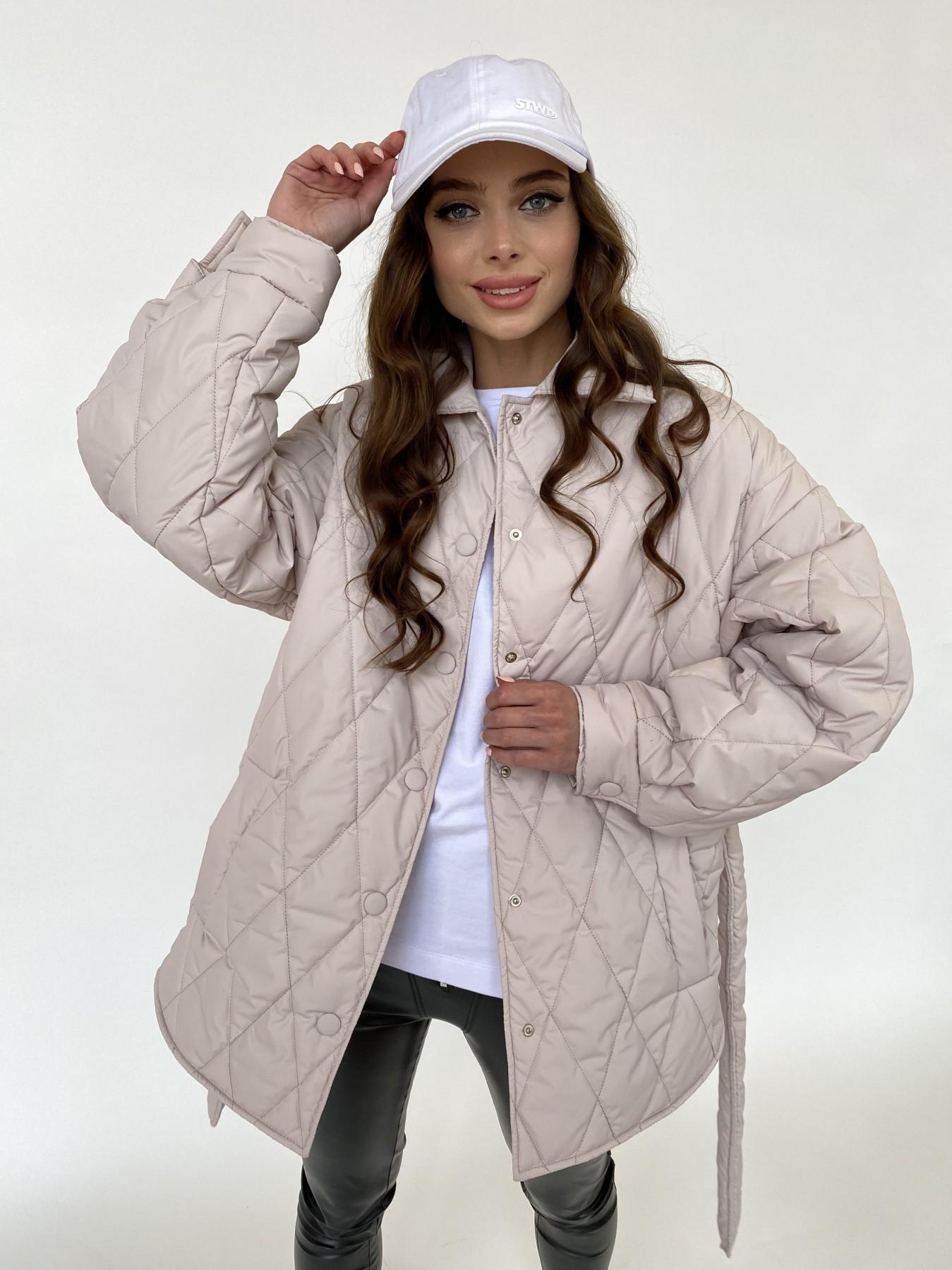 куртка демисезонная женская  Моно куртка из плащевой ткани Ammy 10972