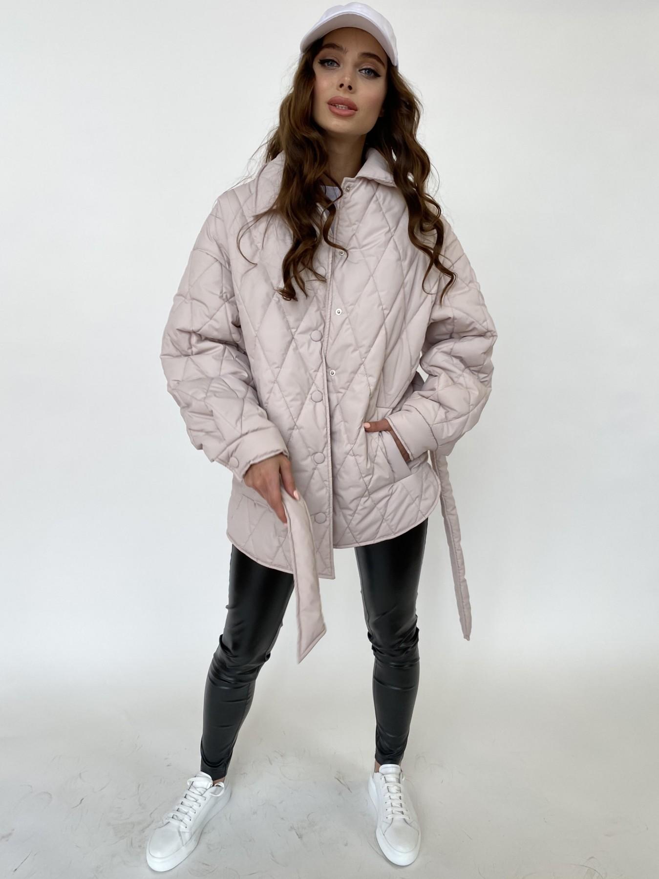 Моно куртка из плащевой ткани Ammy 10972 АРТ. 47515 Цвет: Бежевый 970 - фото 2, интернет магазин tm-modus.ru