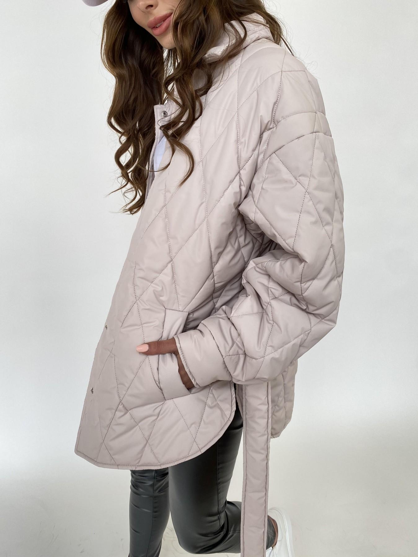 Моно куртка из плащевой ткани Ammy 10972 АРТ. 47515 Цвет: Бежевый 970 - фото 4, интернет магазин tm-modus.ru