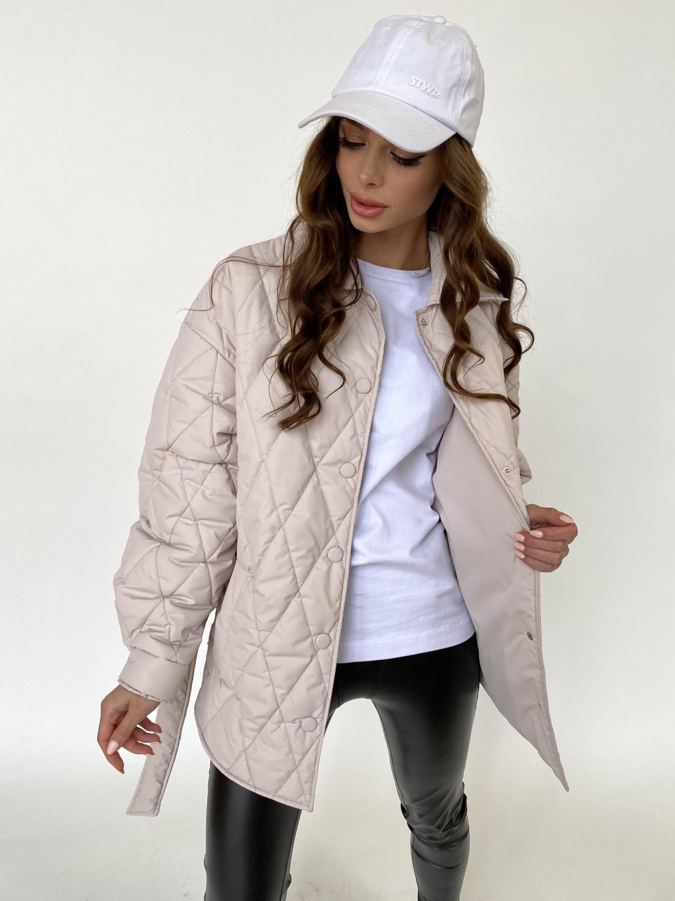 Моно куртка из плащевой ткани Ammy 10972 АРТ. 47515 Цвет: Бежевый 970 - фото 8, интернет магазин tm-modus.ru