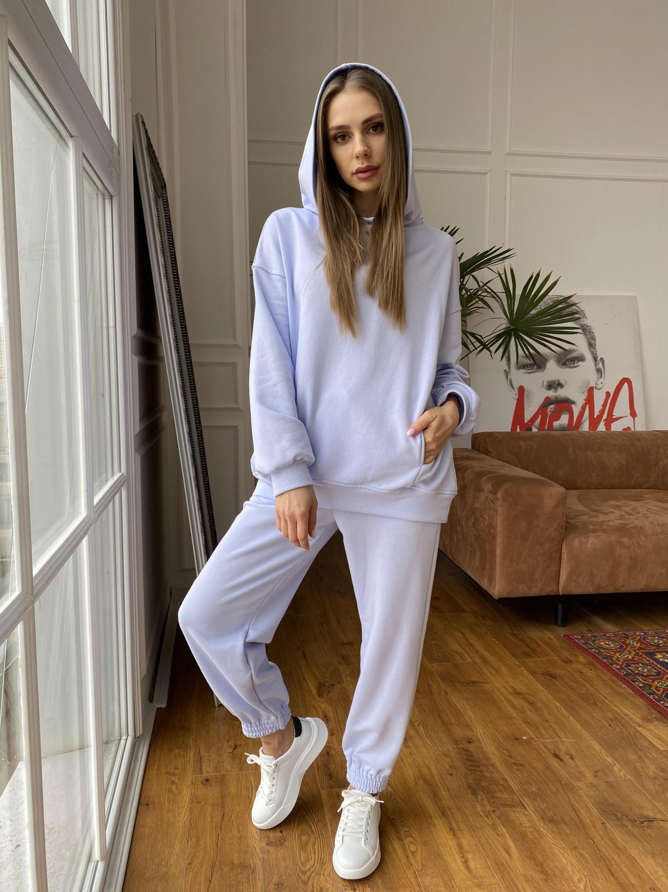 Марион костюм из 3х нитки 10581 АРТ. 47635 Цвет: Голубой Светлый - фото 4, интернет магазин tm-modus.ru