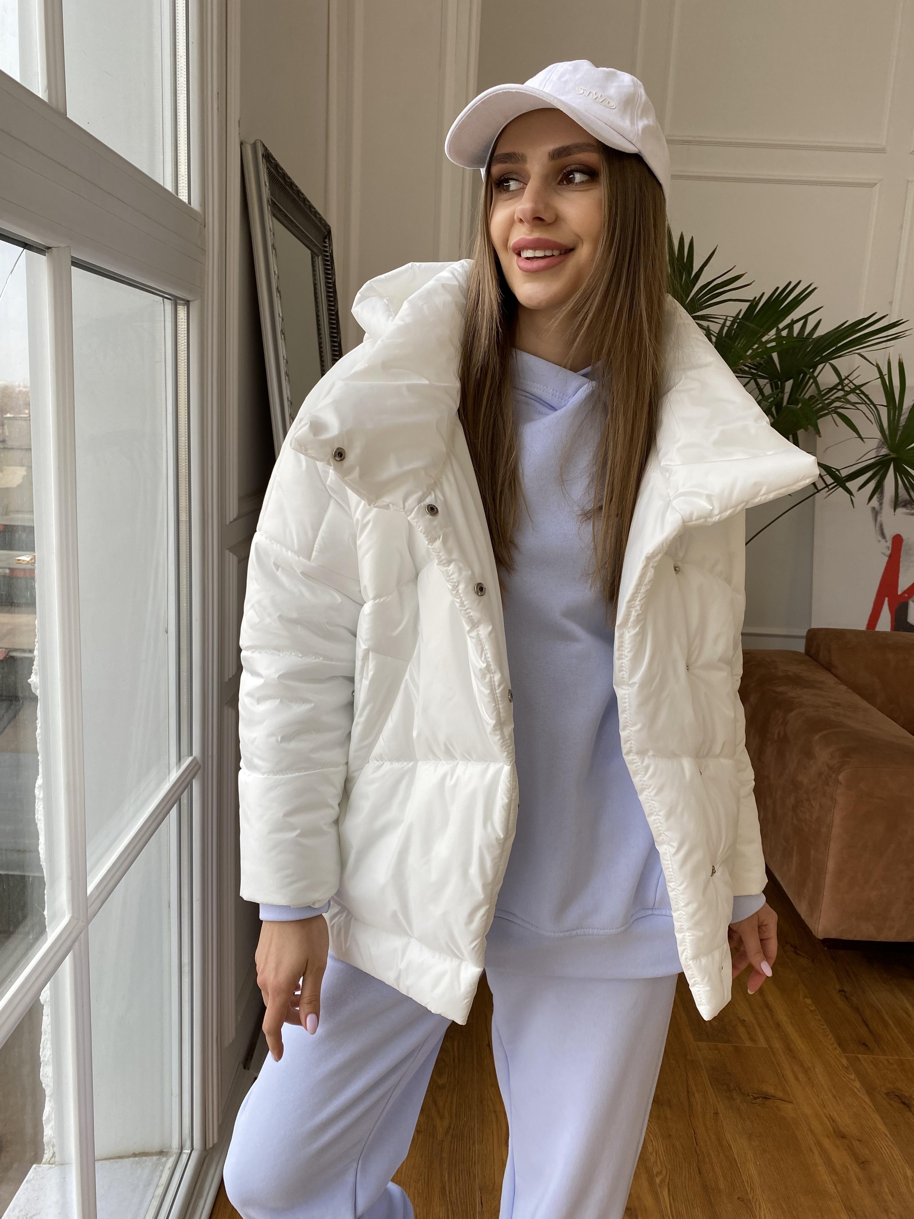 куртка пуховик женская Уно куртка плащевка Ammy 10671