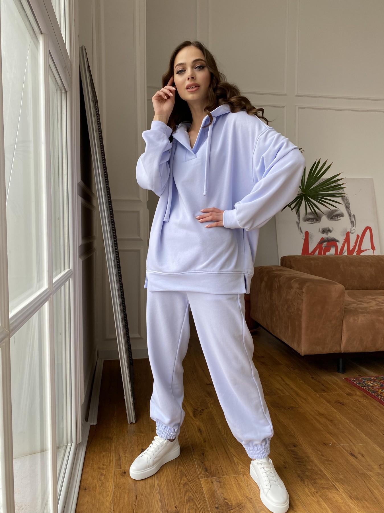 Ярис костюм из 3х нитки 10789 АРТ. 47636 Цвет: Голубой Светлый - фото 3, интернет магазин tm-modus.ru