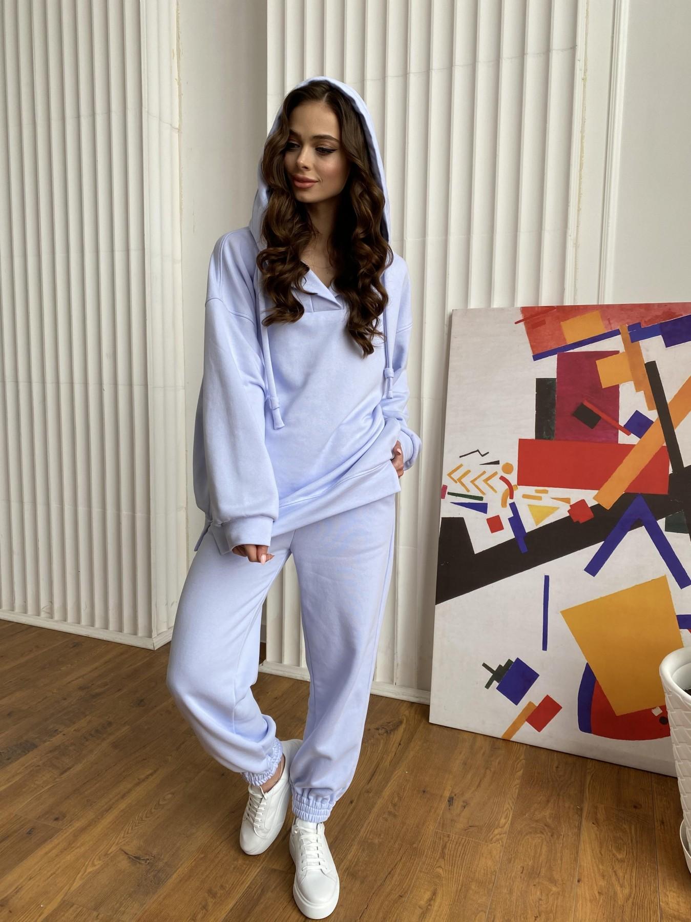 Ярис костюм из 3х нитки 10789 АРТ. 47636 Цвет: Голубой Светлый - фото 8, интернет магазин tm-modus.ru