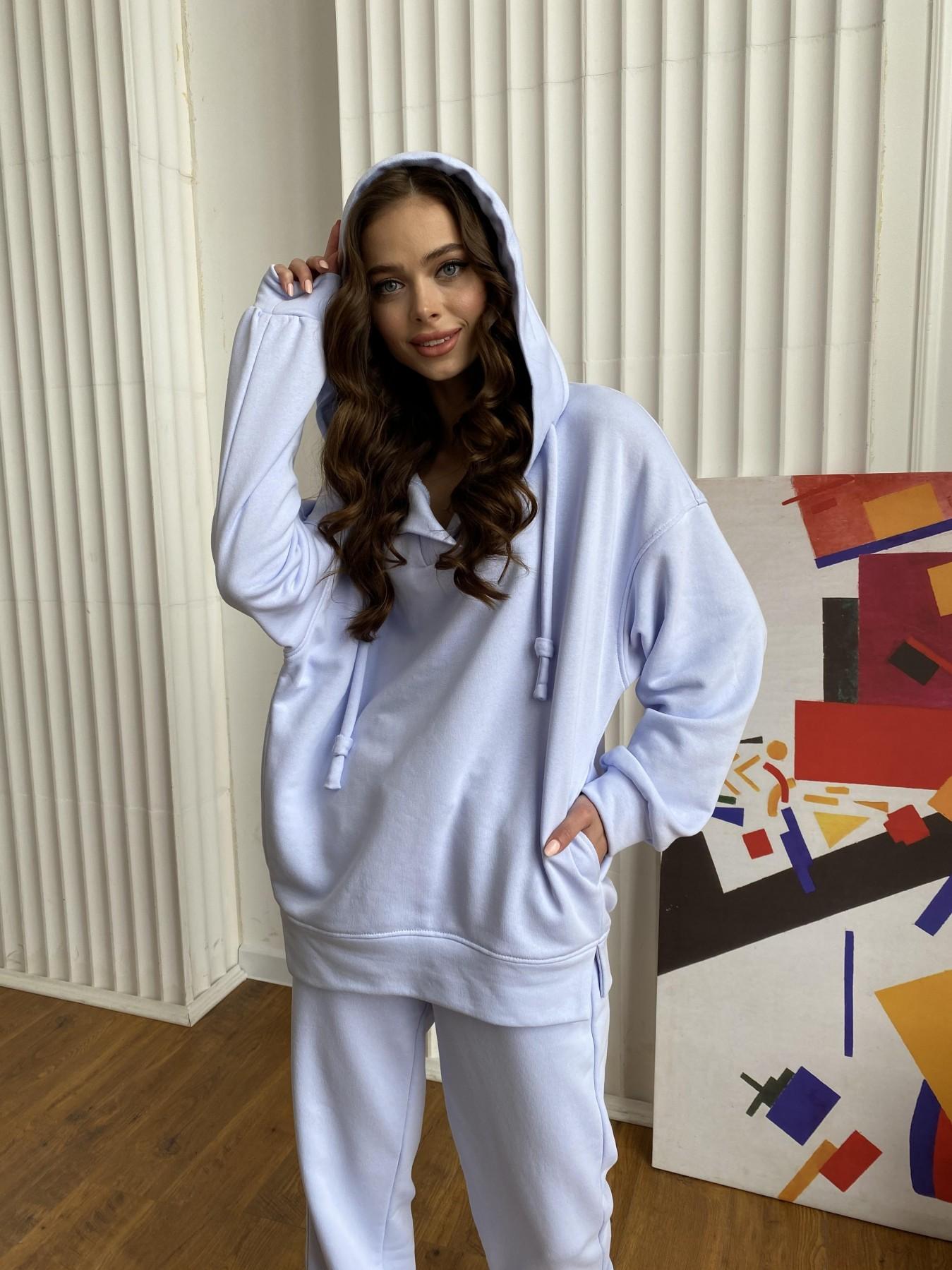 Ярис костюм из 3х нитки 10789 АРТ. 47636 Цвет: Голубой Светлый - фото 9, интернет магазин tm-modus.ru