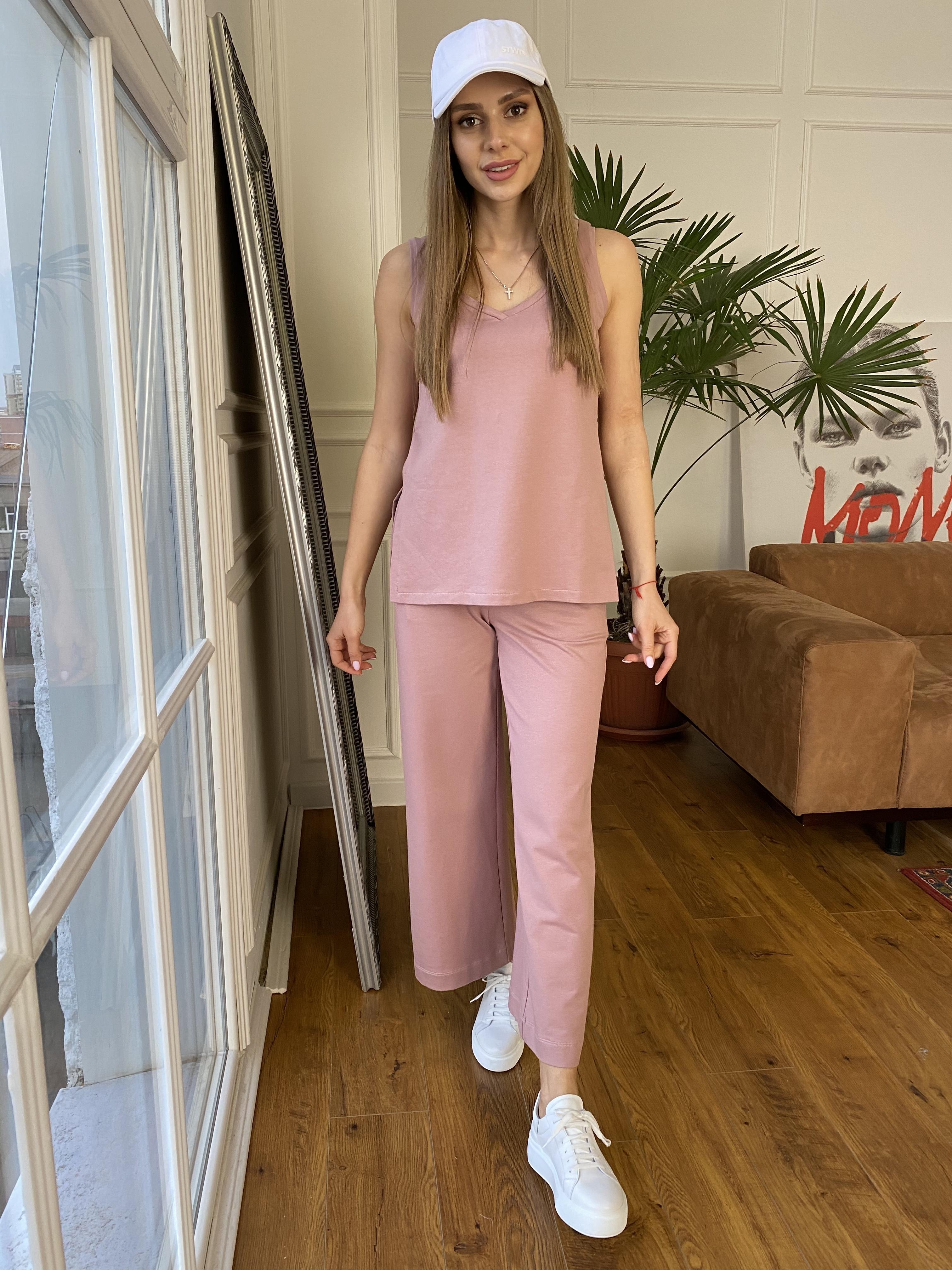 Женская одежда от производителя Modus Лайм  костюм  из двунитки тонкий 9402