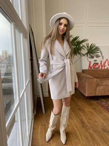 """Купить """"Вейсона флеш"""" пальто из пальтовой ткани 10751 оптом и в розницу"""