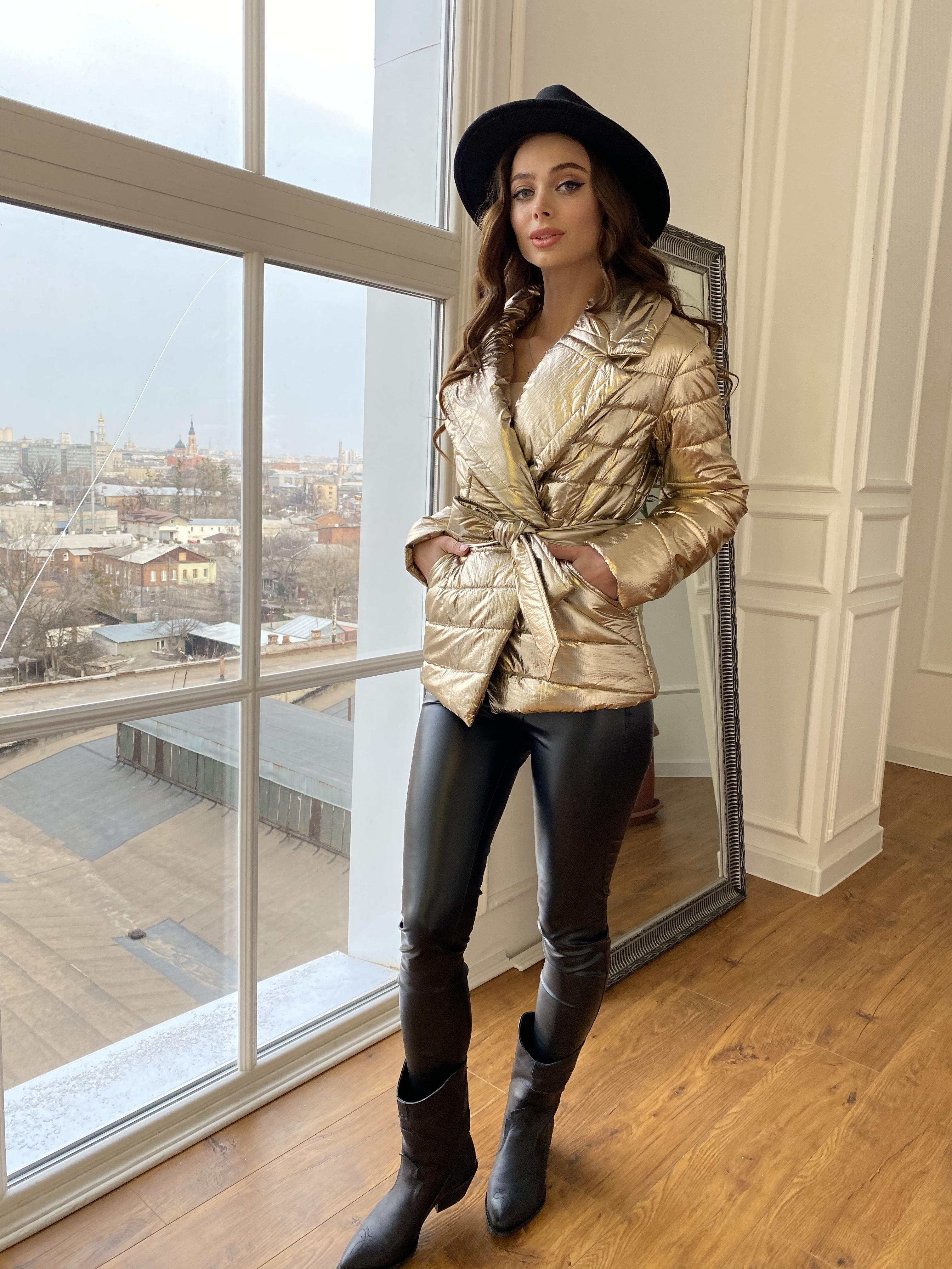 купить женские куртки оптом Мириам  4562 куртка горизонтальная стежка