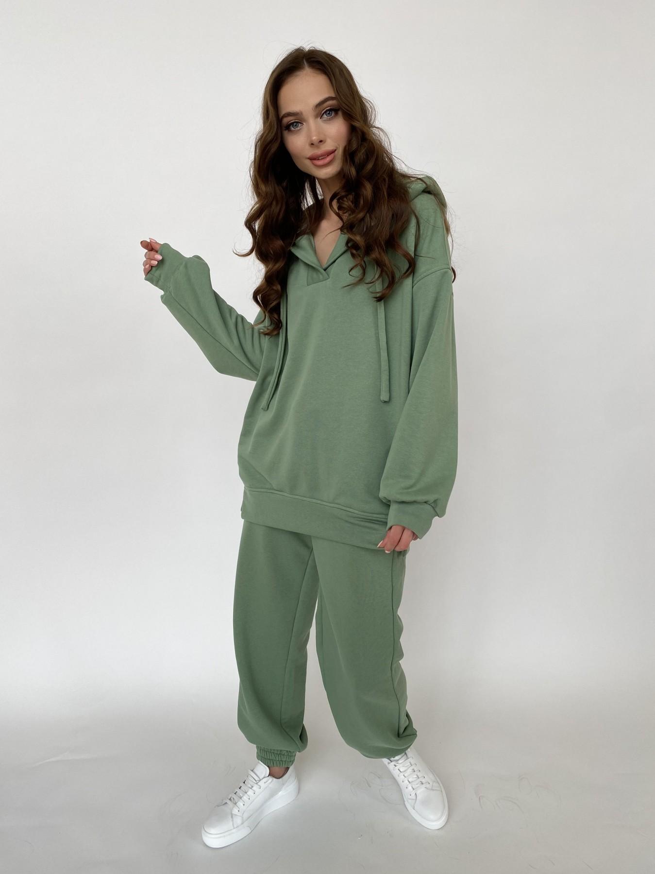 Ярис костюм из 3х нитки 10789 АРТ. 47617 Цвет: Олива Темная - фото 4, интернет магазин tm-modus.ru